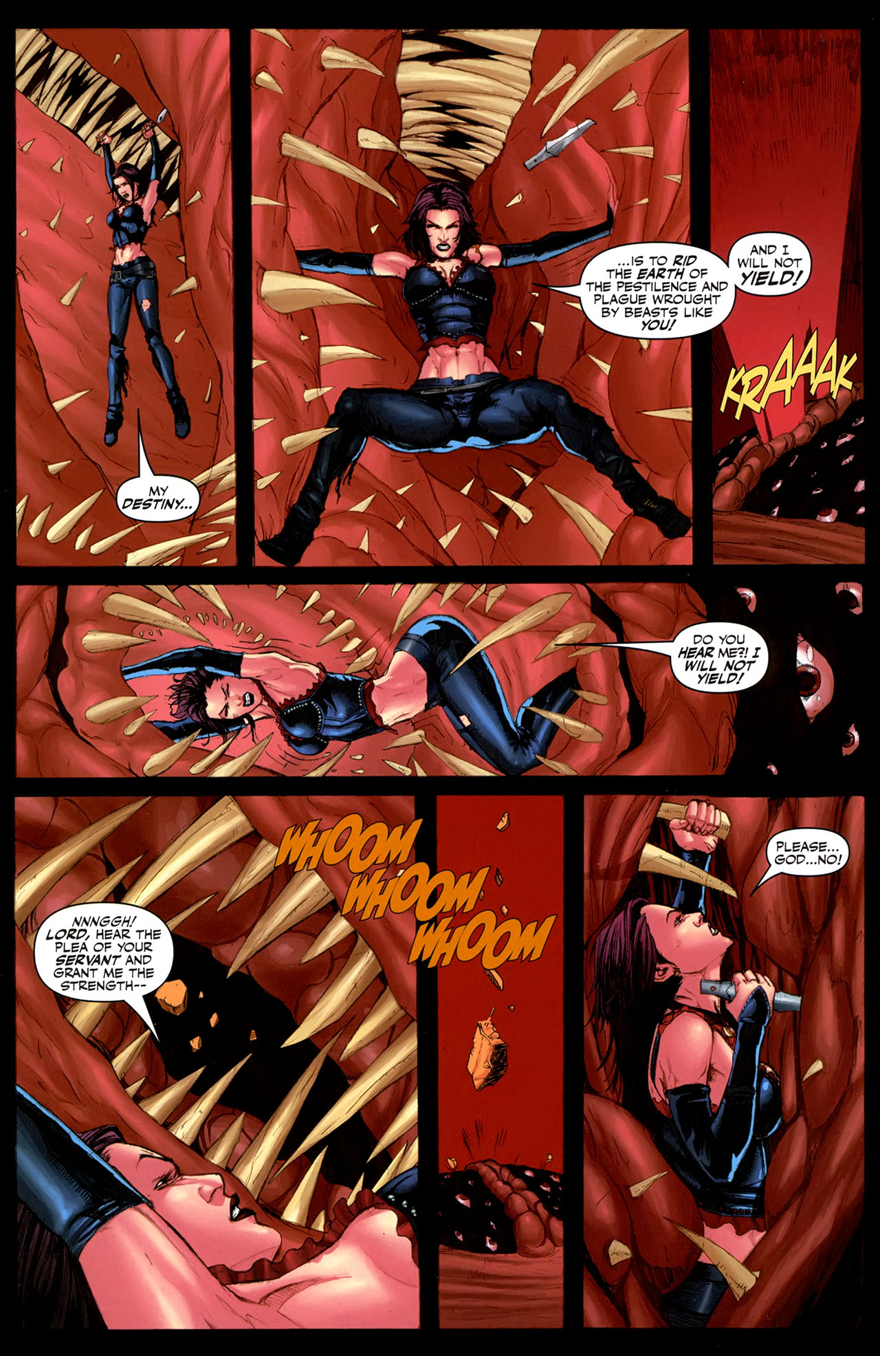 Read online Eva: Daughter of the Dragon comic -  Issue # Full - 29
