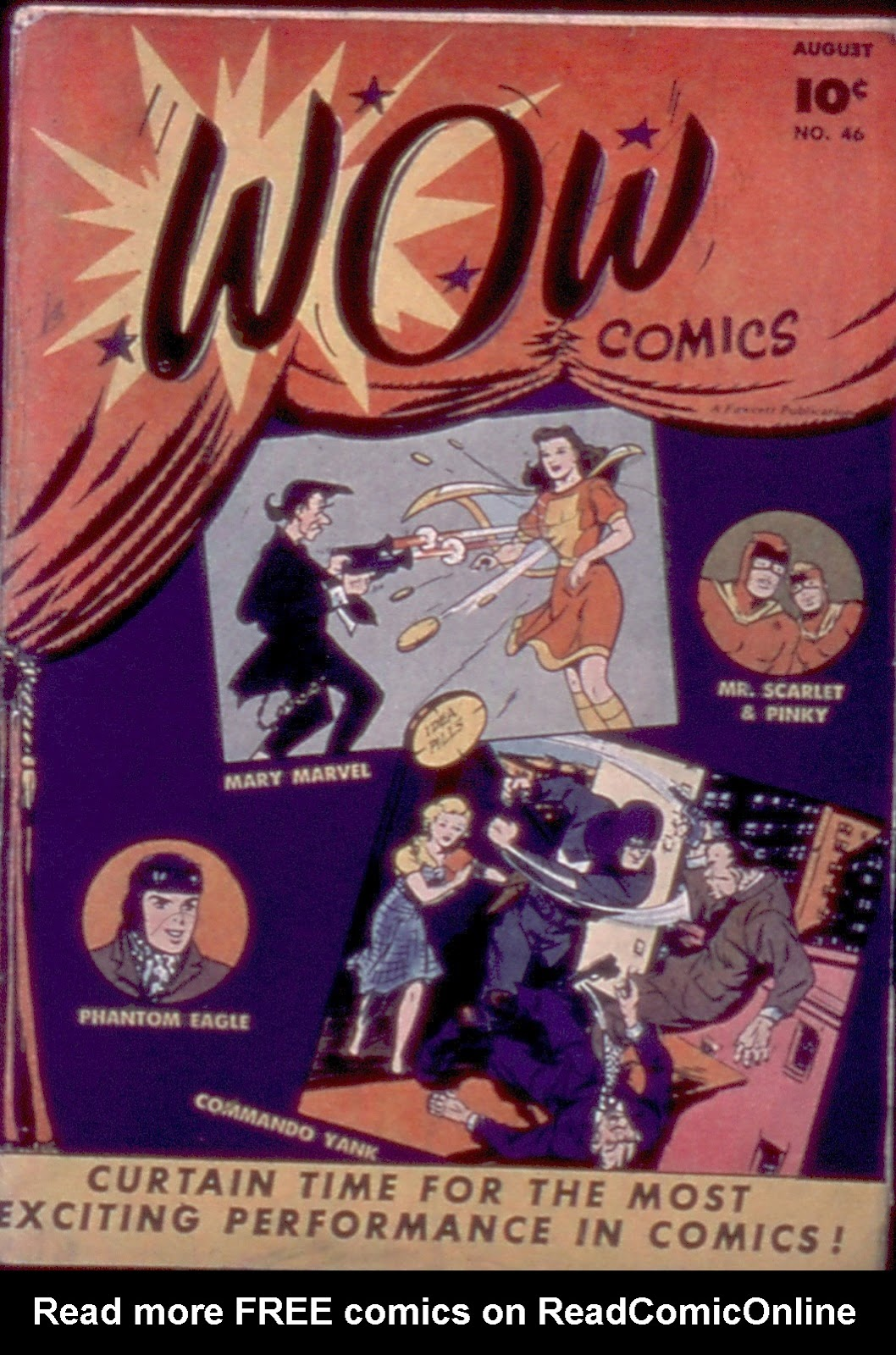 Wow Comics 46 Page 1