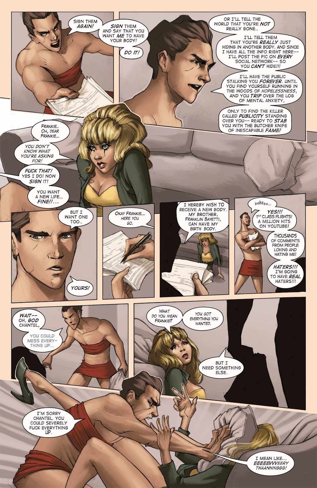 Read online Vescell comic -  Issue #4 - 9