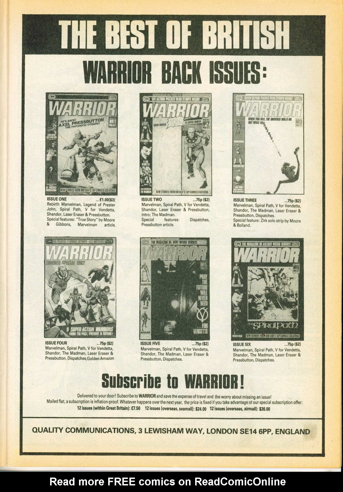 Warrior Issue #8 #9 - English 11