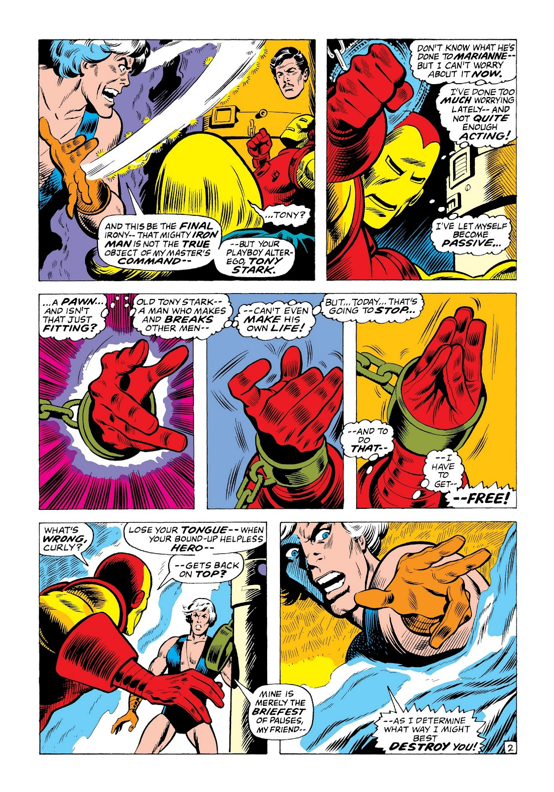 Read online Marvel Masterworks: The Invincible Iron Man comic -  Issue # TPB 8 (Part 1) - 89