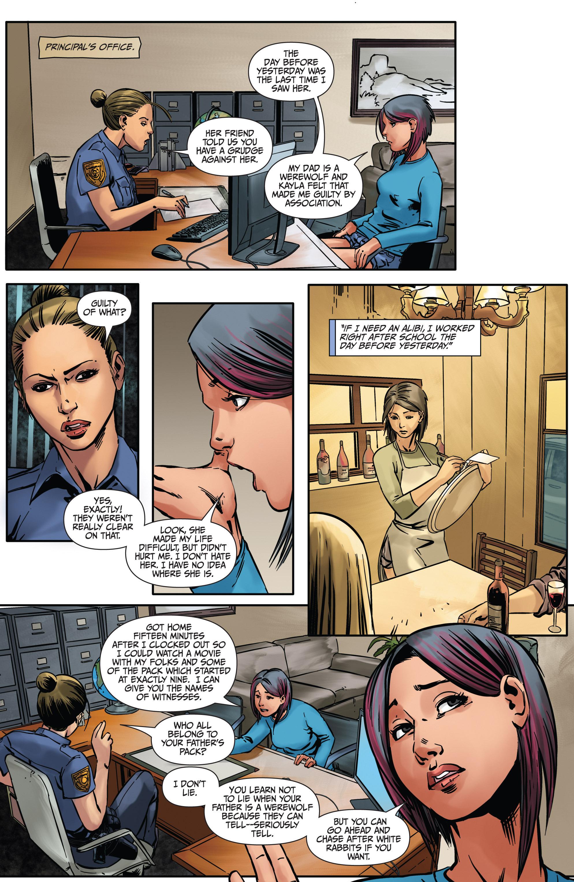 Read online Mercy Thompson comic -  Issue #4 - 20