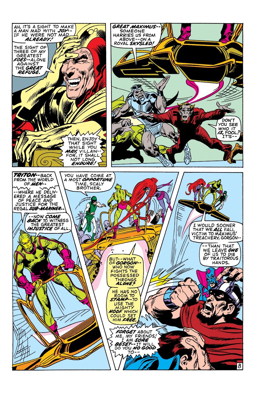Read online Marvel Masterworks: The Inhumans comic -  Issue # TPB 1 (Part 2) - 32