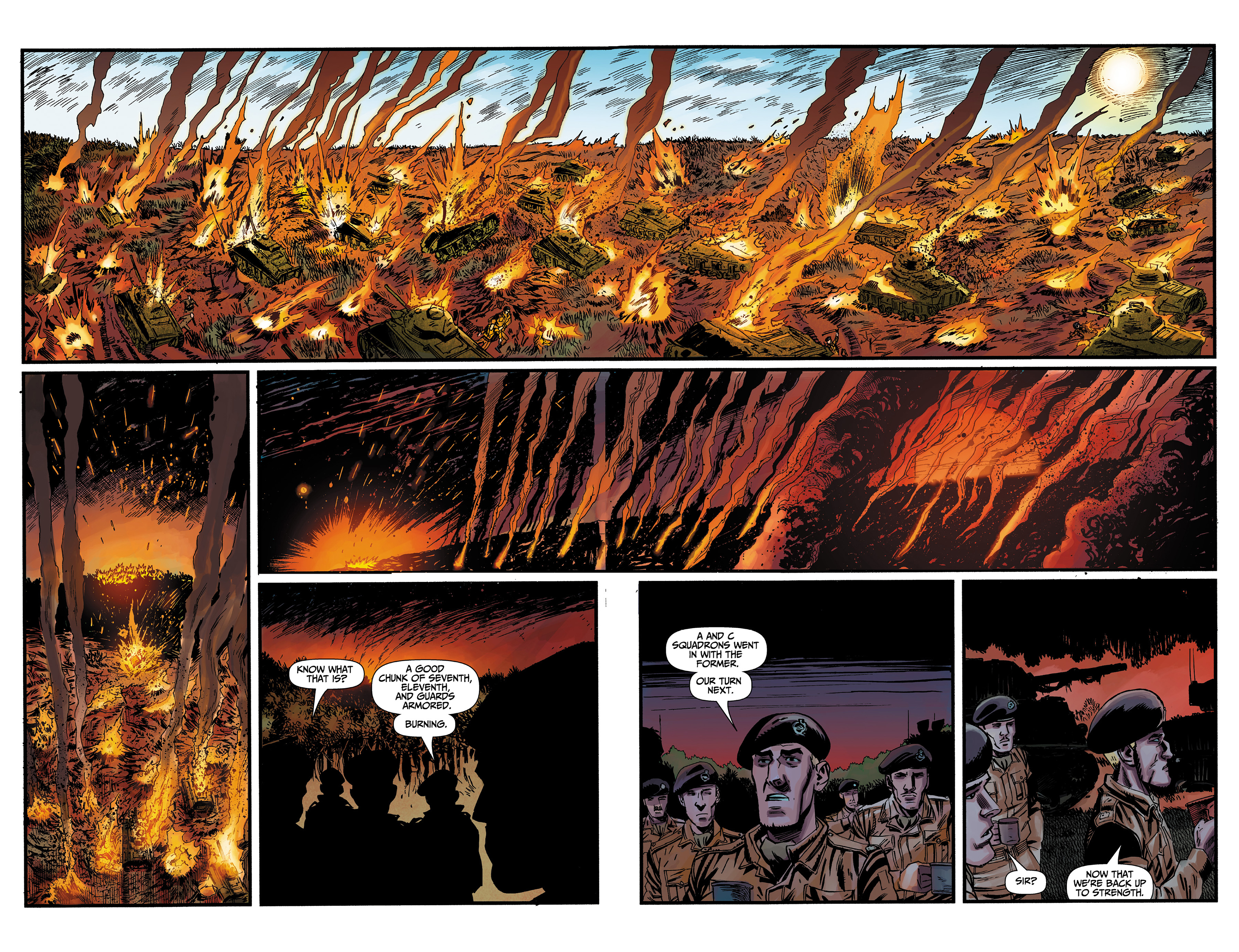 Read online World of Tanks comic -  Issue #3 - 4