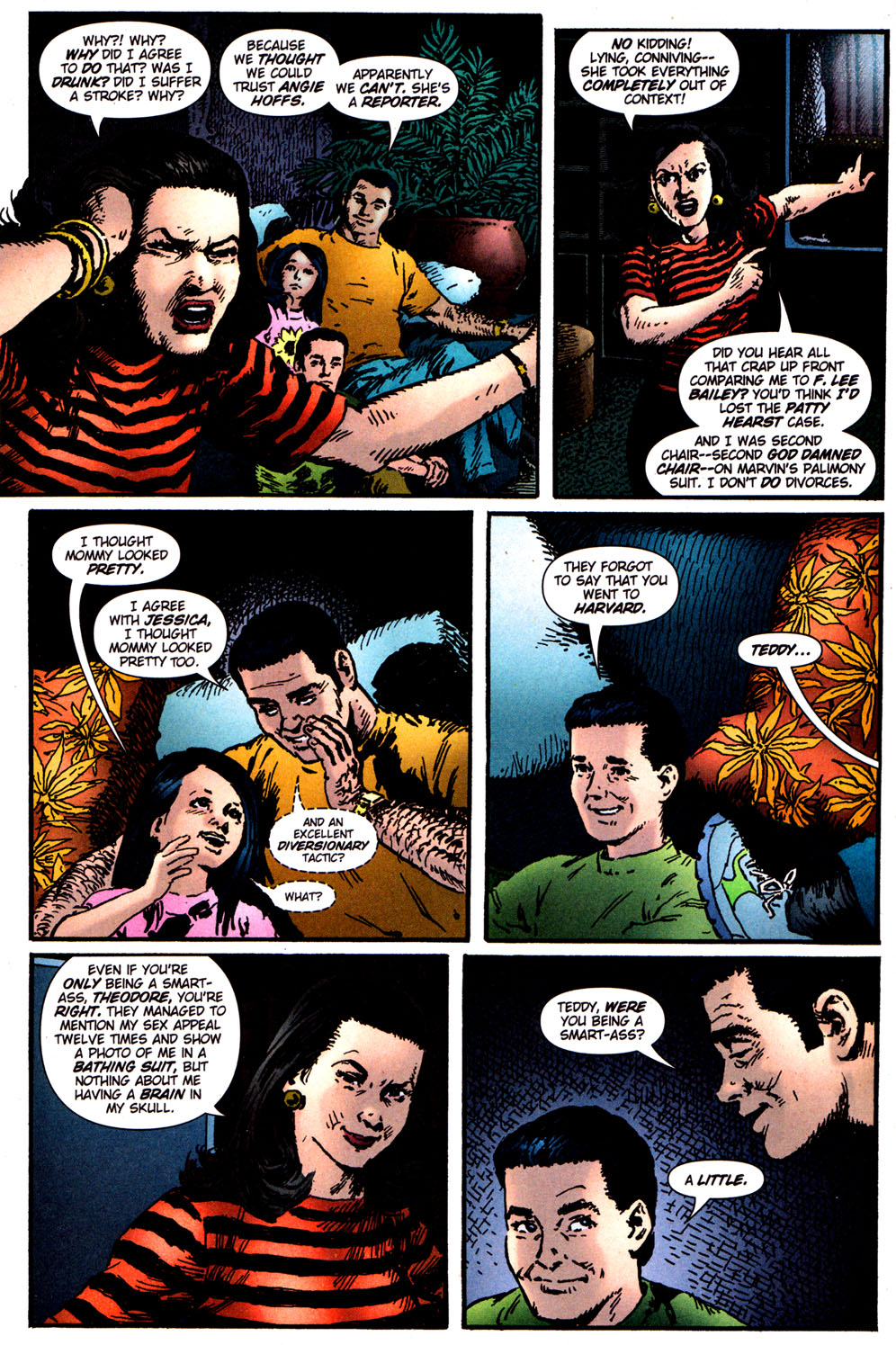 Read online Caper comic -  Issue #5 - 6