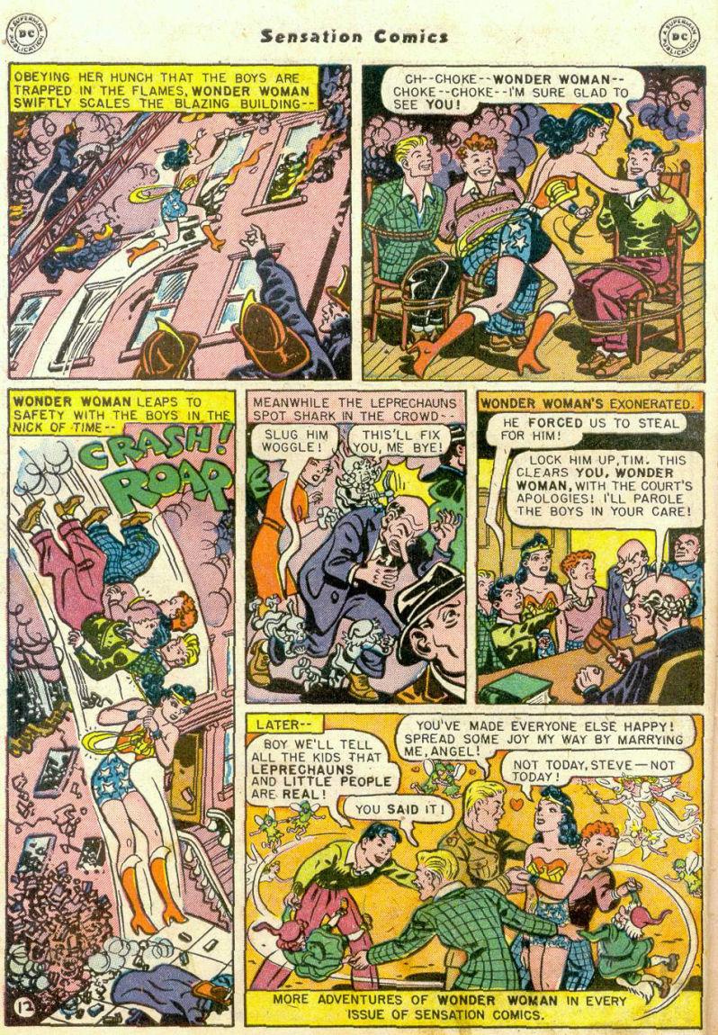 Read online Sensation (Mystery) Comics comic -  Issue #75 - 13