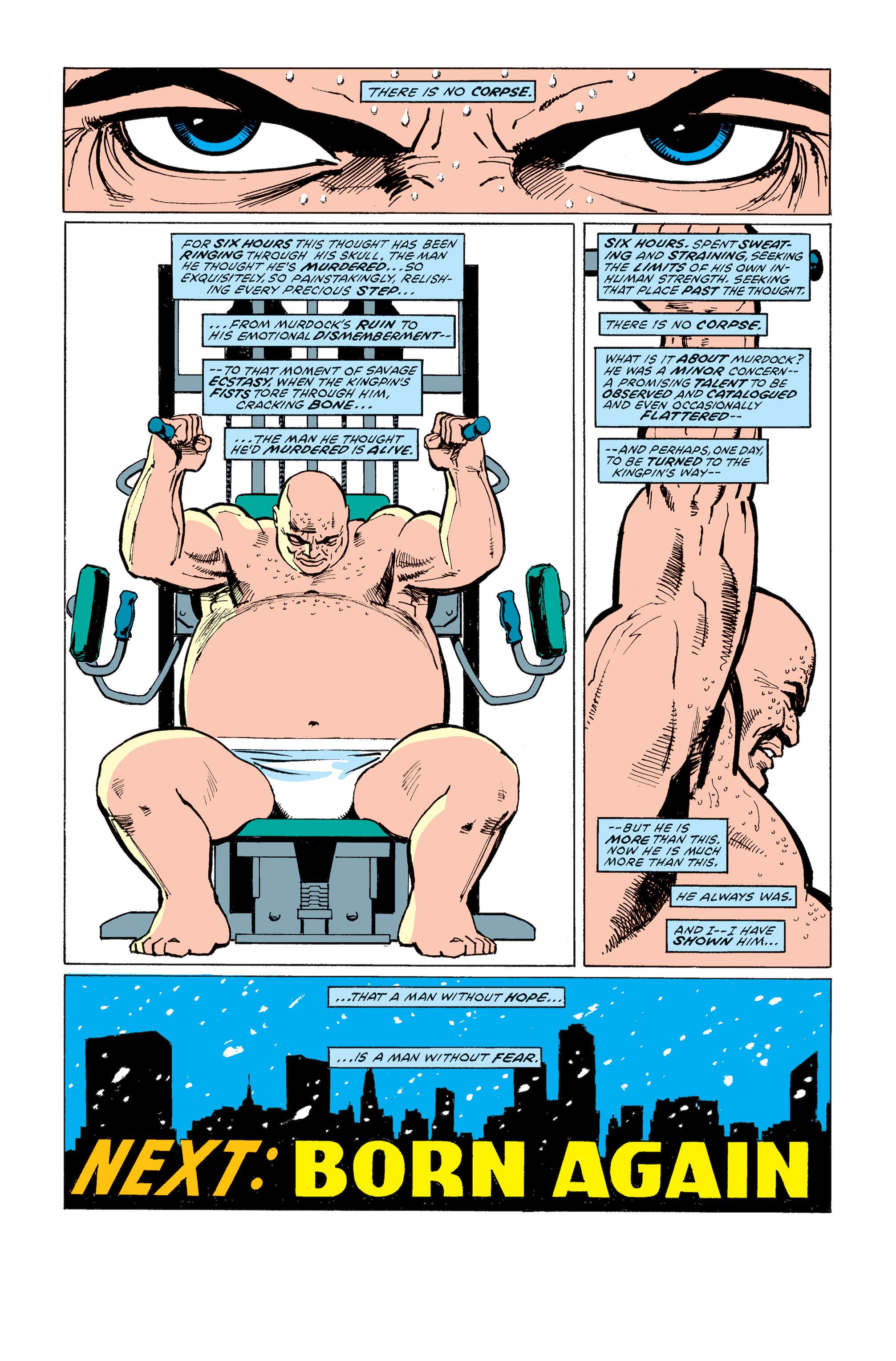 Read online Daredevil: Born Again comic -  Issue # Full - 98