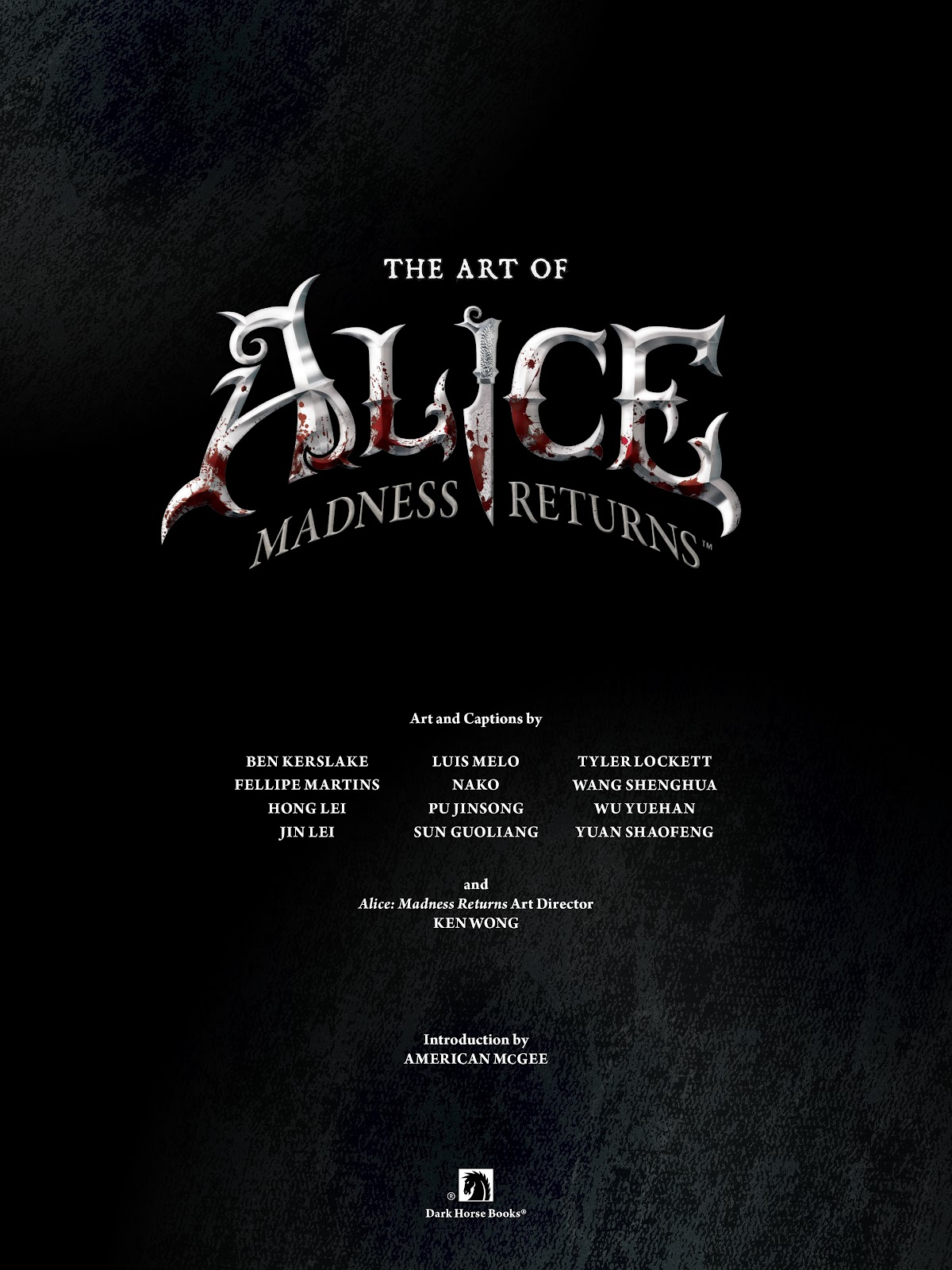 Read online The Art of Alice: Madness Returns comic -  Issue # TPB (Part 1) - 5