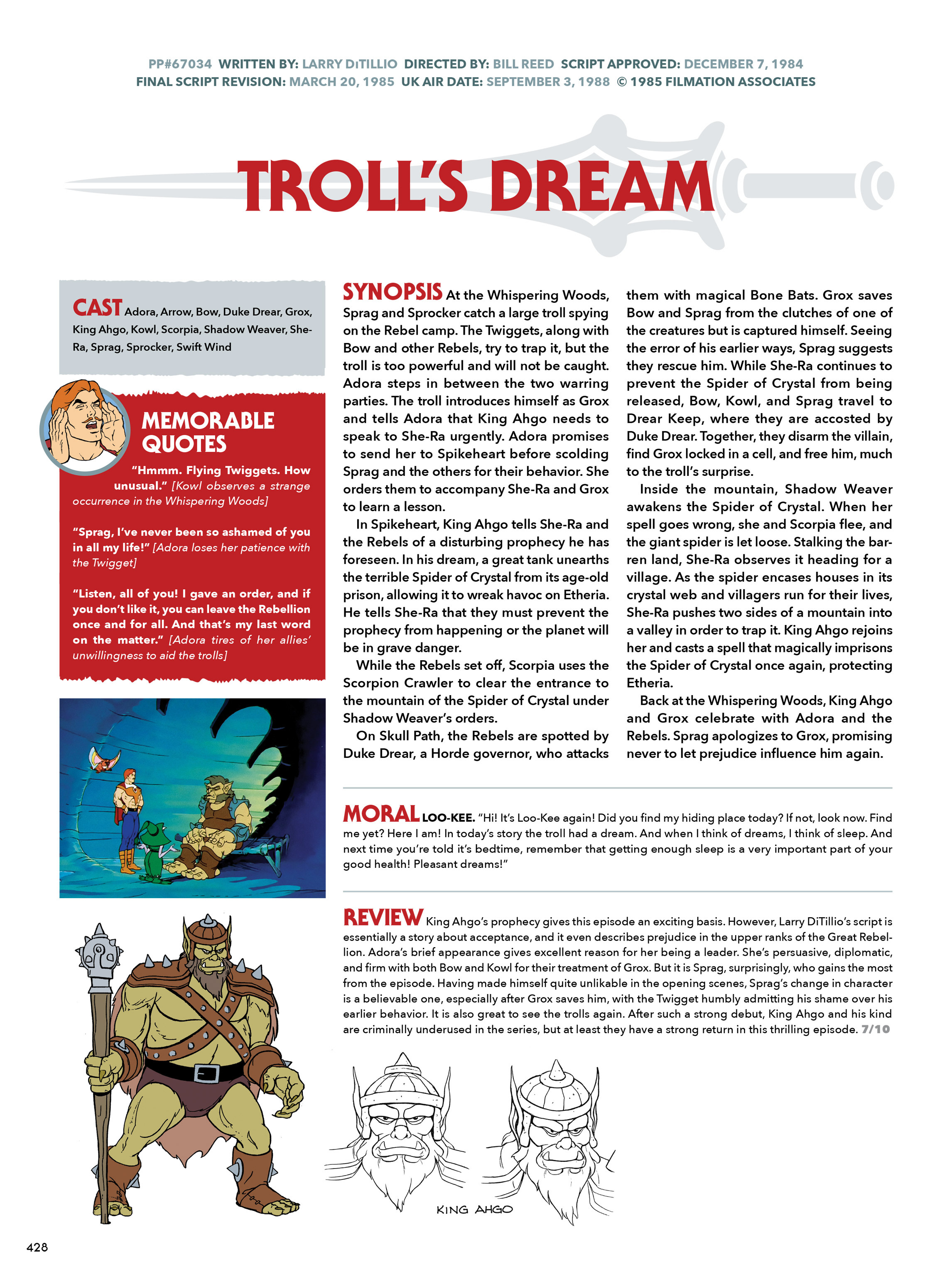Read online He-Man and She-Ra: A Complete Guide to the Classic Animated Adventures comic -  Issue # TPB (Part 3) - 29