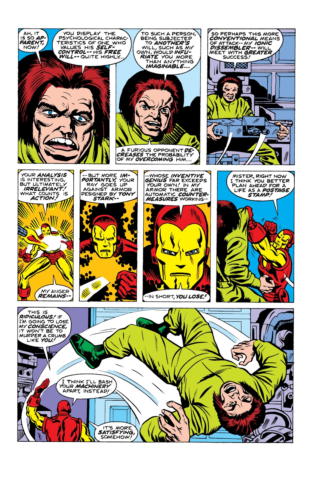 Read online Marvel Masterworks: The Invincible Iron Man comic -  Issue # TPB 10 (Part 2) - 59