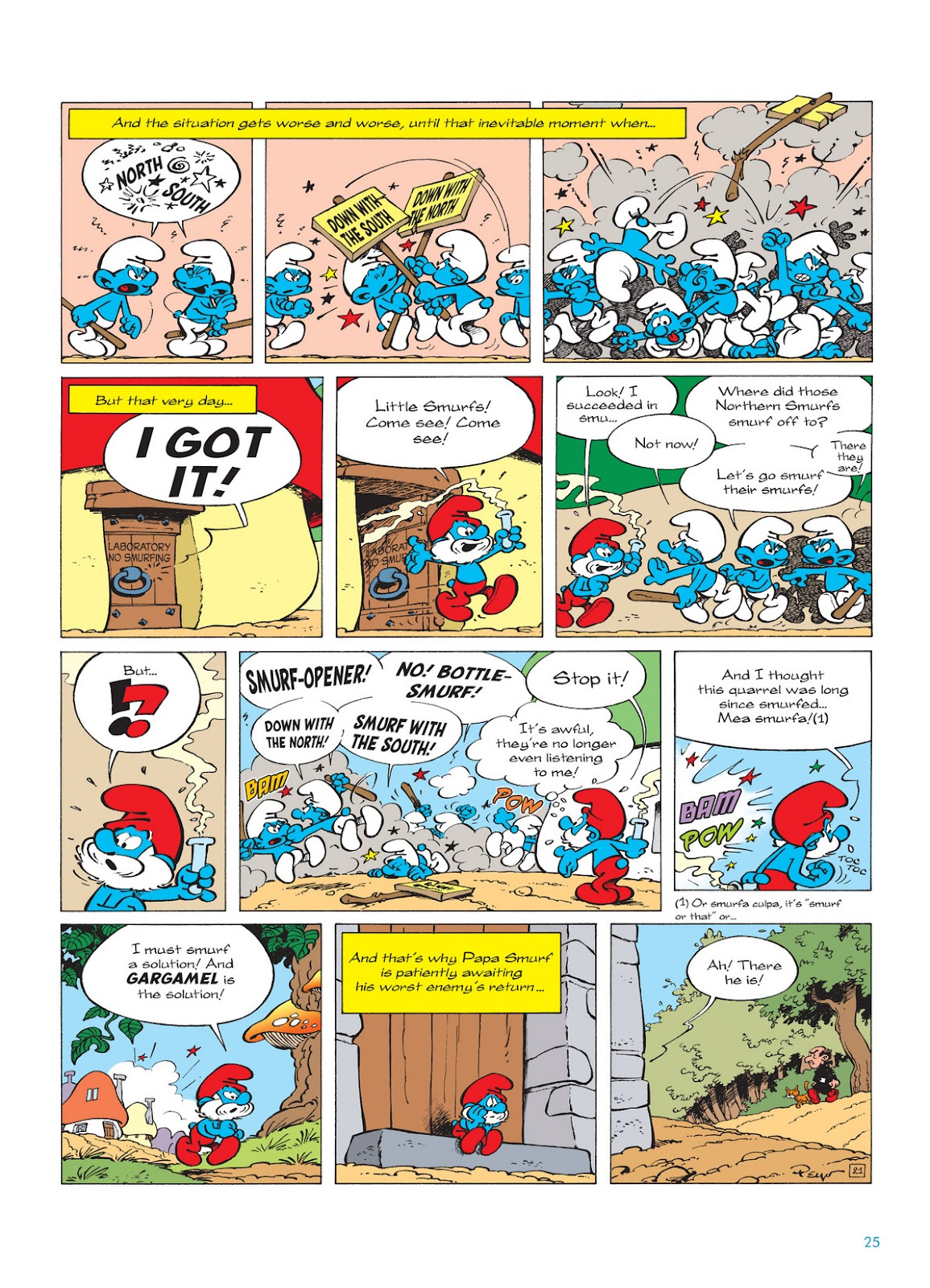 Read online The Smurfs comic -  Issue #12 - 25