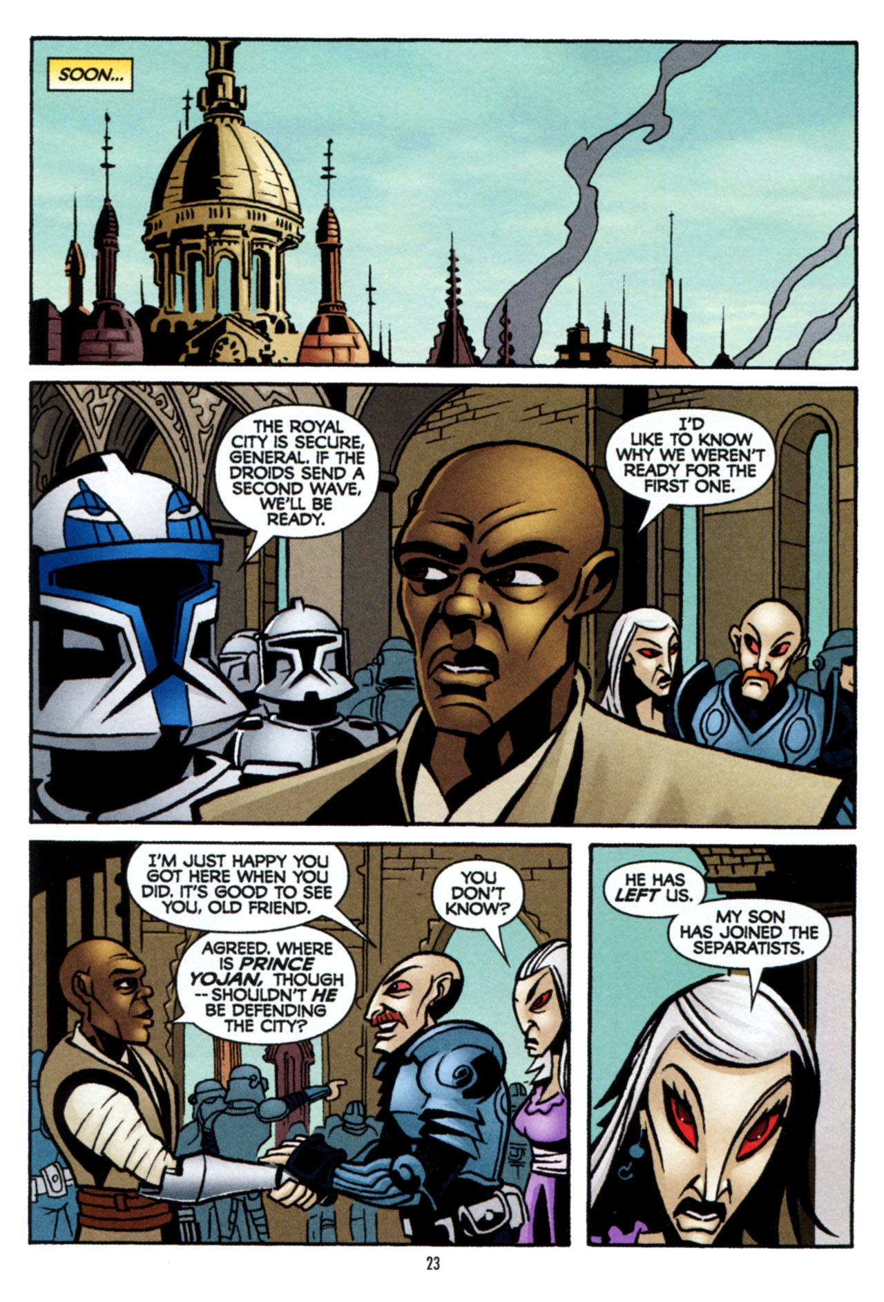 Read online Star Wars: The Clone Wars - The Colossus of Destiny comic -  Issue # Full - 24