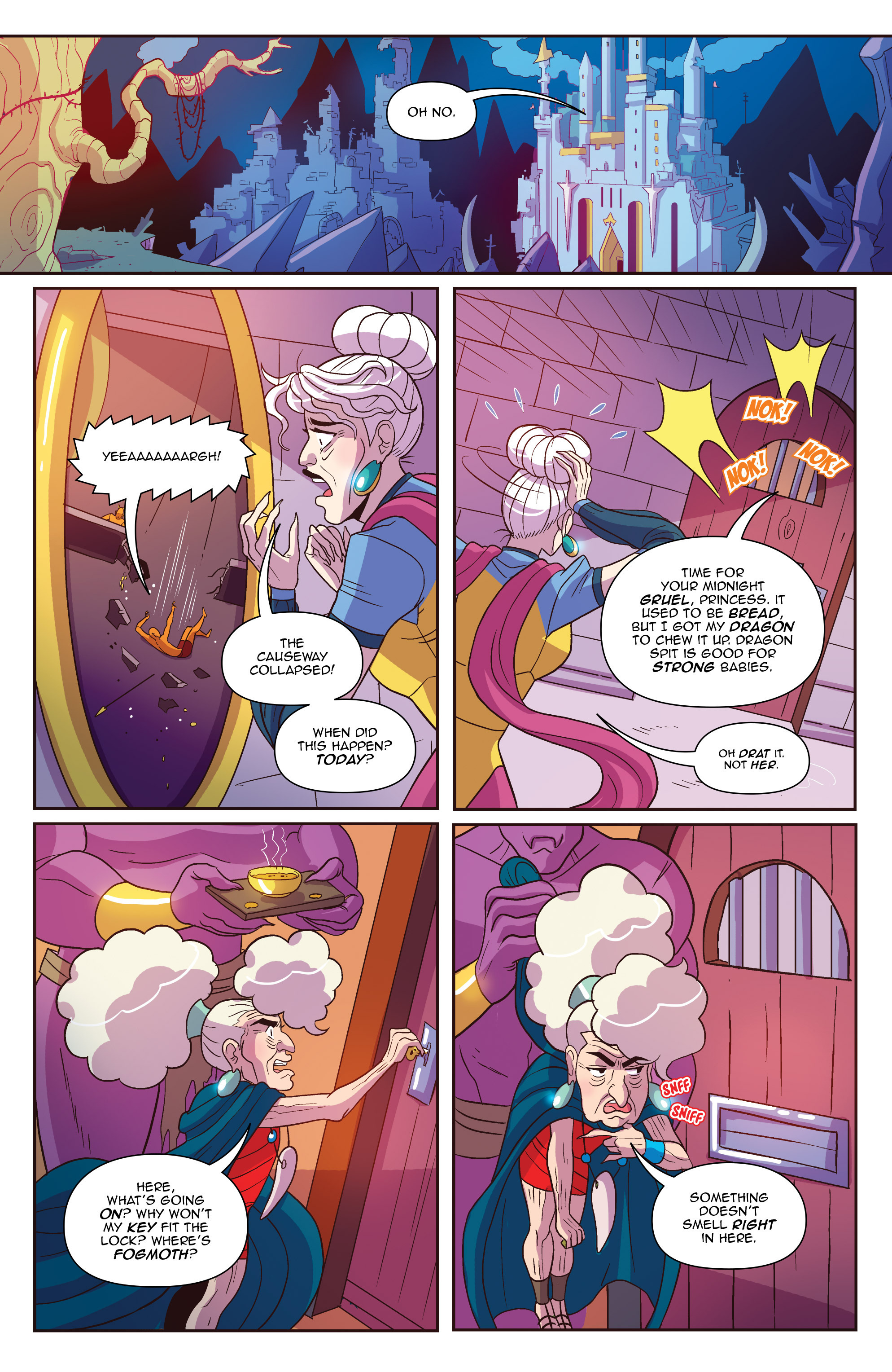 Read online Another Castle comic -  Issue #2 - 23