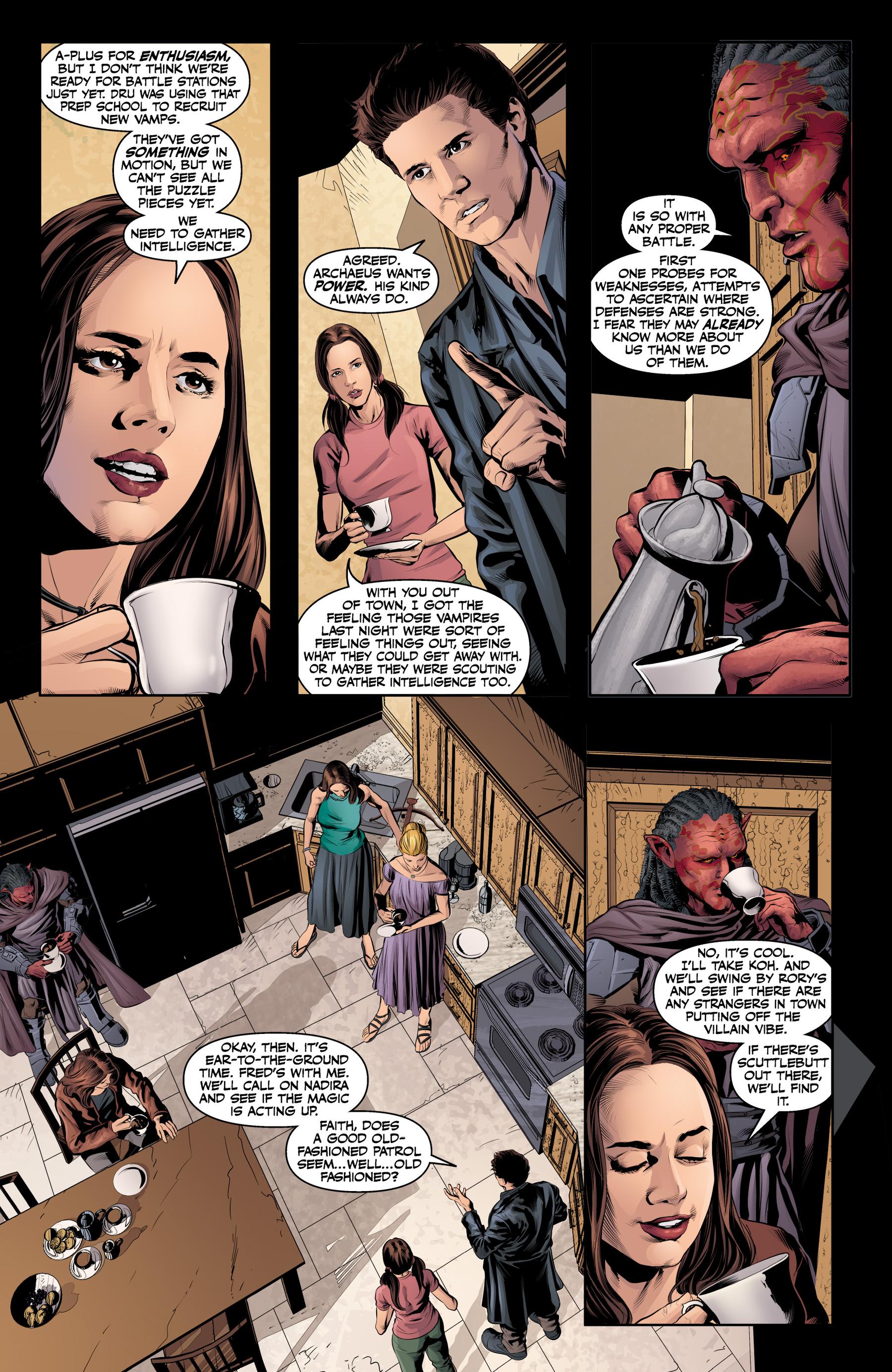Read online Angel & Faith Season 10 comic -  Issue #19 - 11