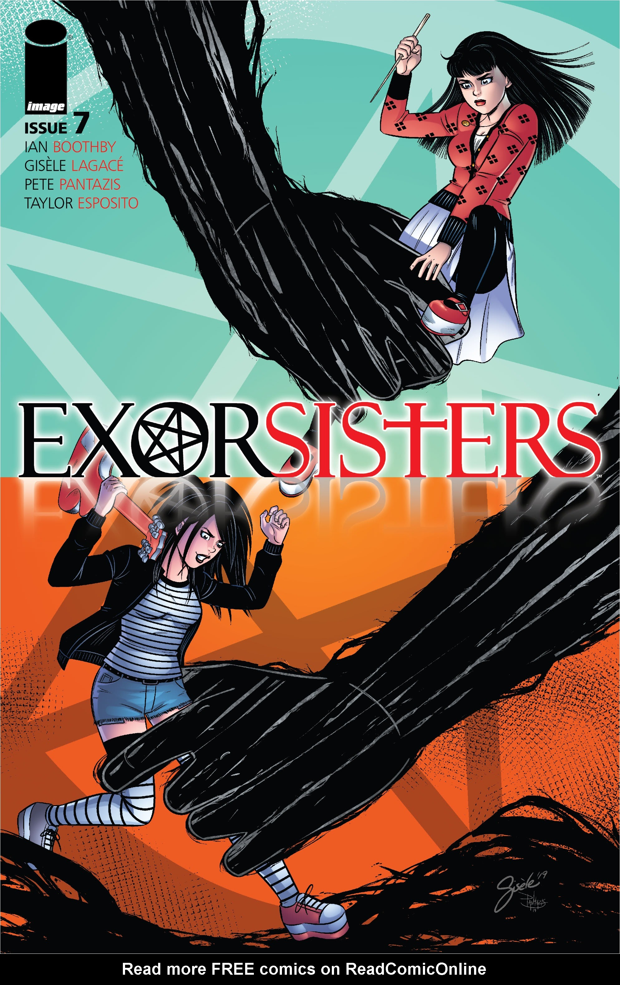 Exorsisters 7 Page 1