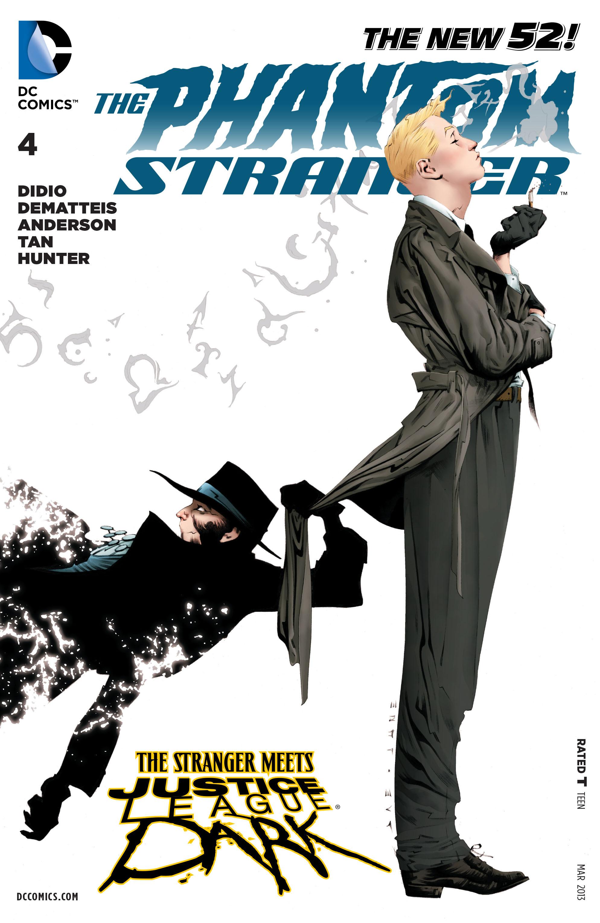 Read online Trinity of Sin: The Phantom Stranger comic -  Issue #4 - 1