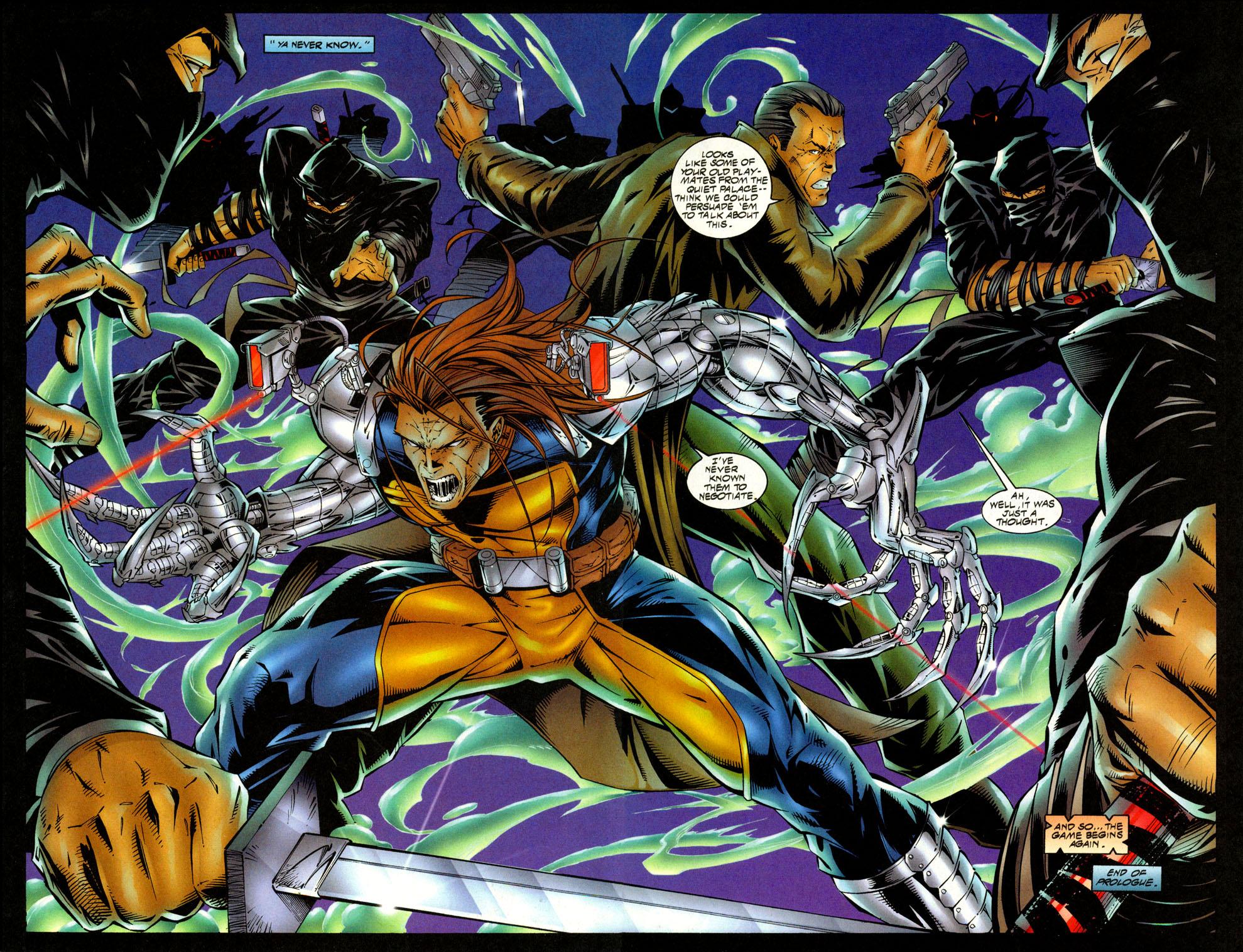 Read online Avengelyne (1996) comic -  Issue #4 - 4
