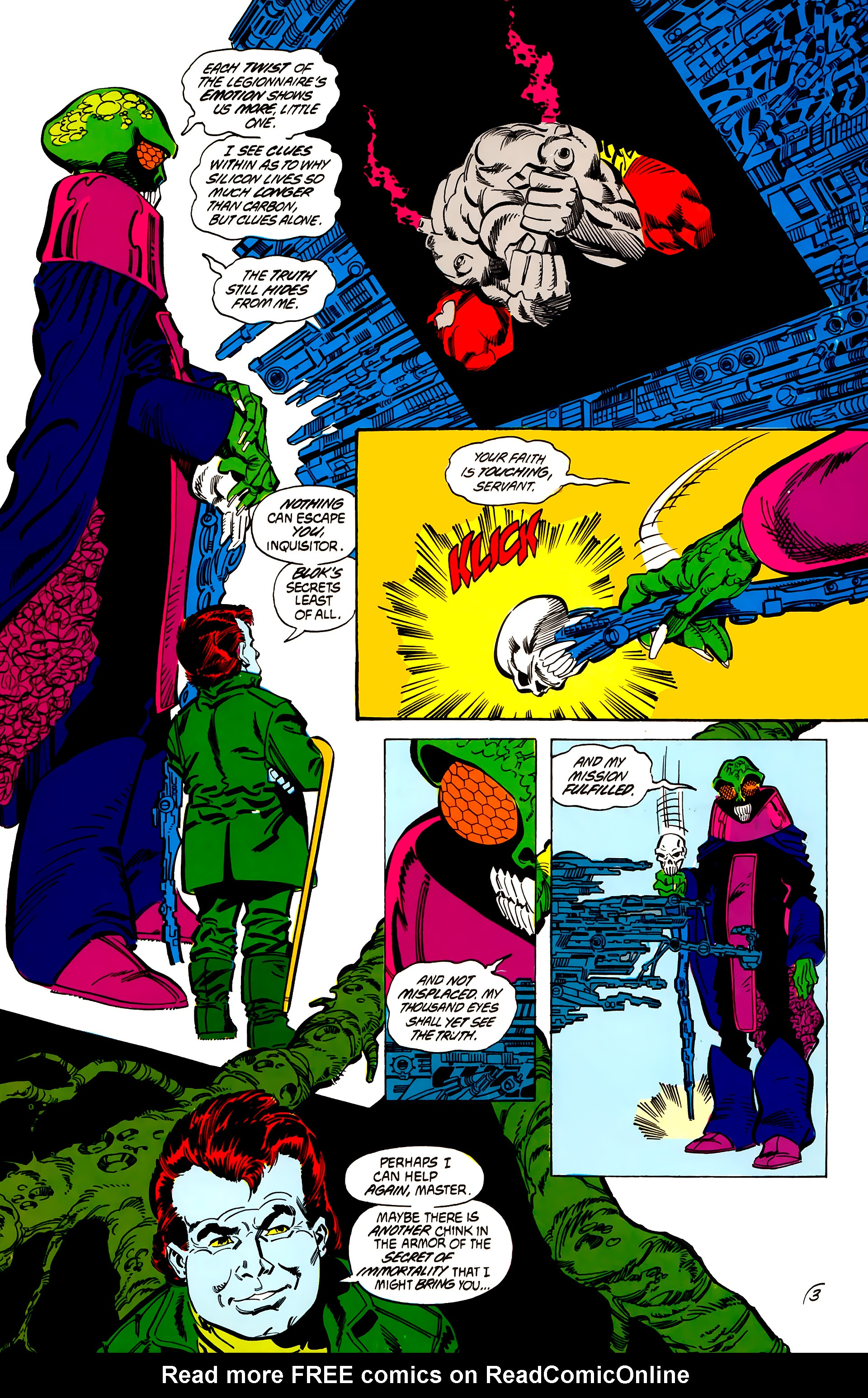 Legion of Super-Heroes (1984) 56 Page 3