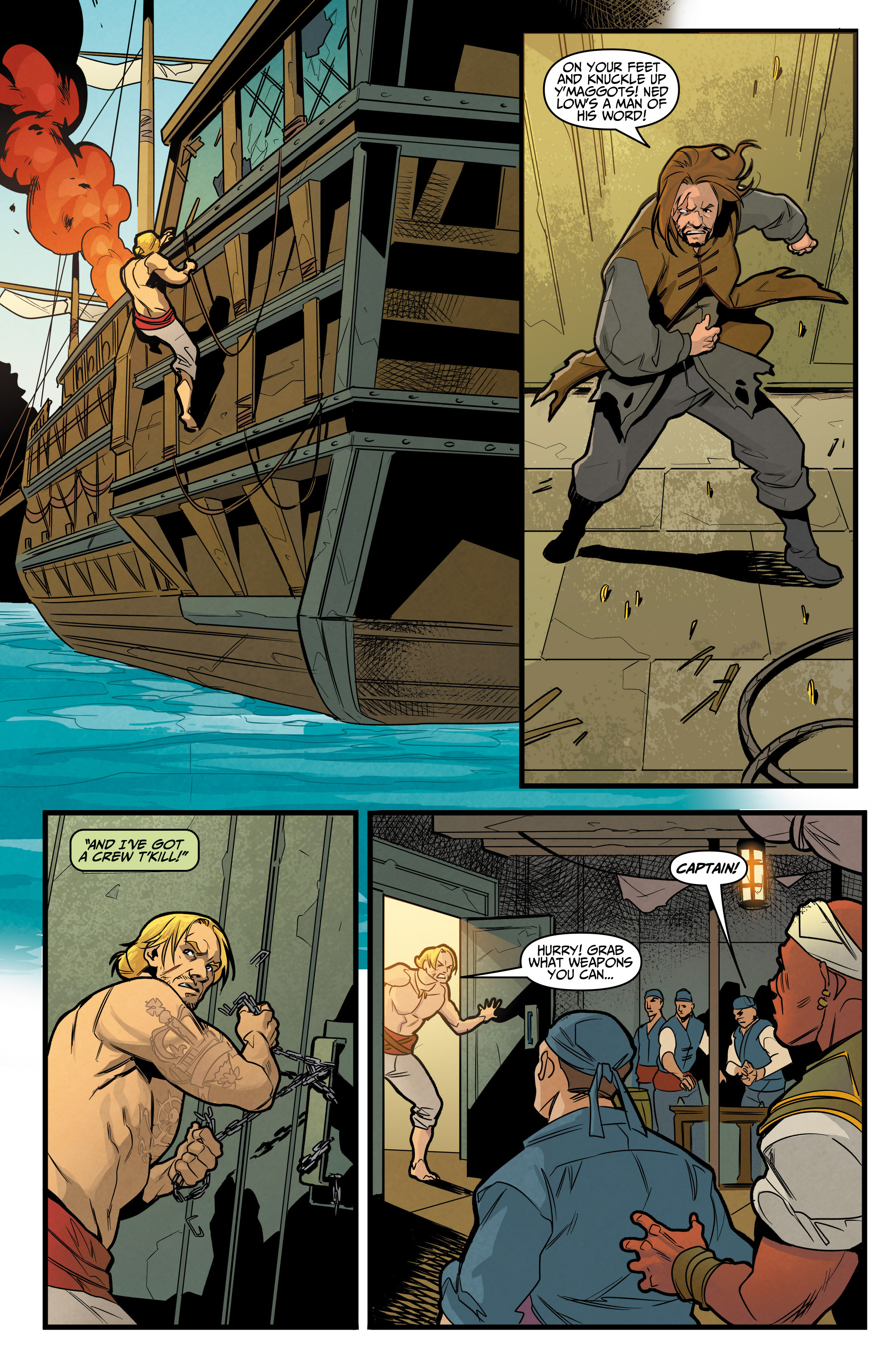 Read online Assassin's Creed: Reflections comic -  Issue #3 - 15