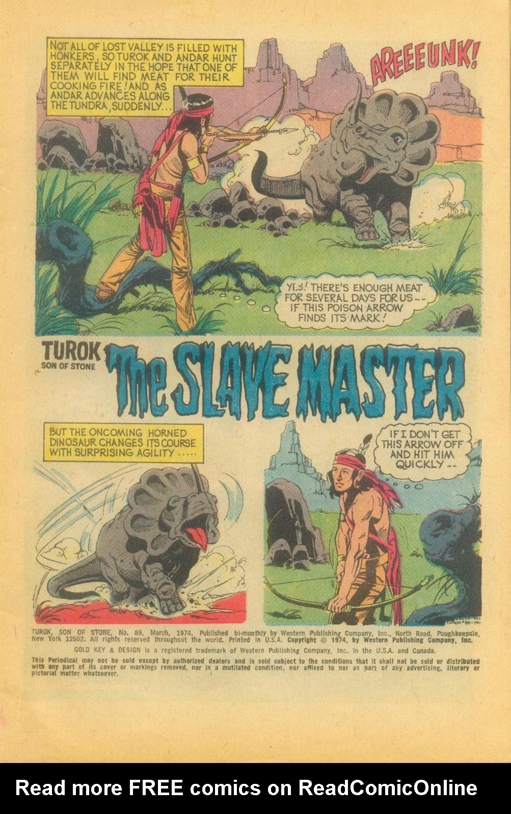Read online Turok, Son of Stone comic -  Issue #89 - 3