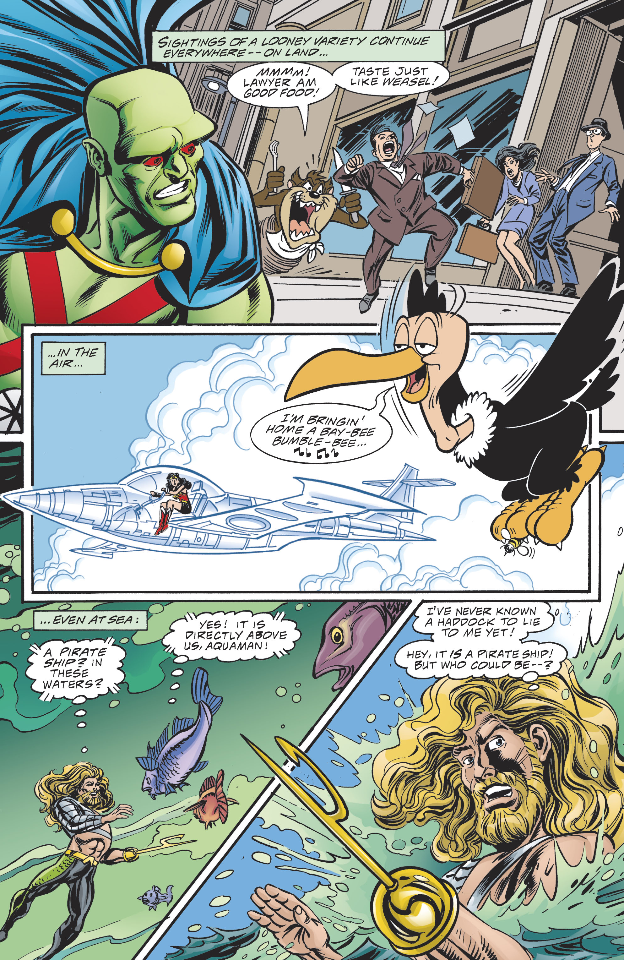 Read online DC/Looney Tunes 100-Page Super Spectacular comic -  Issue # Full - 33