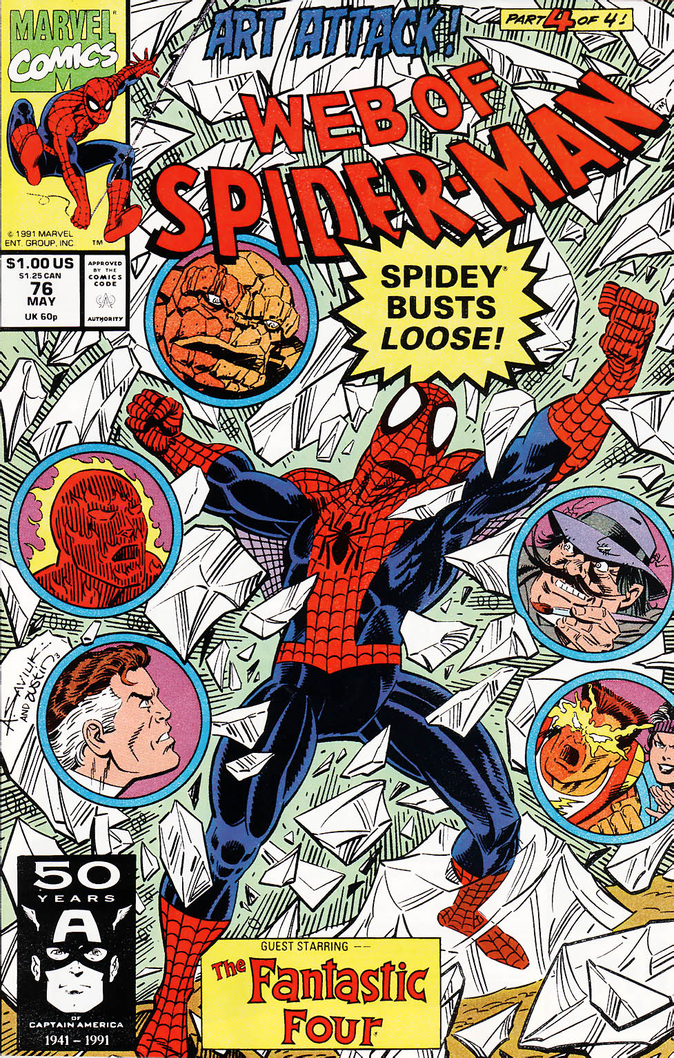 Web of Spider-Man (1985) 76 Page 1