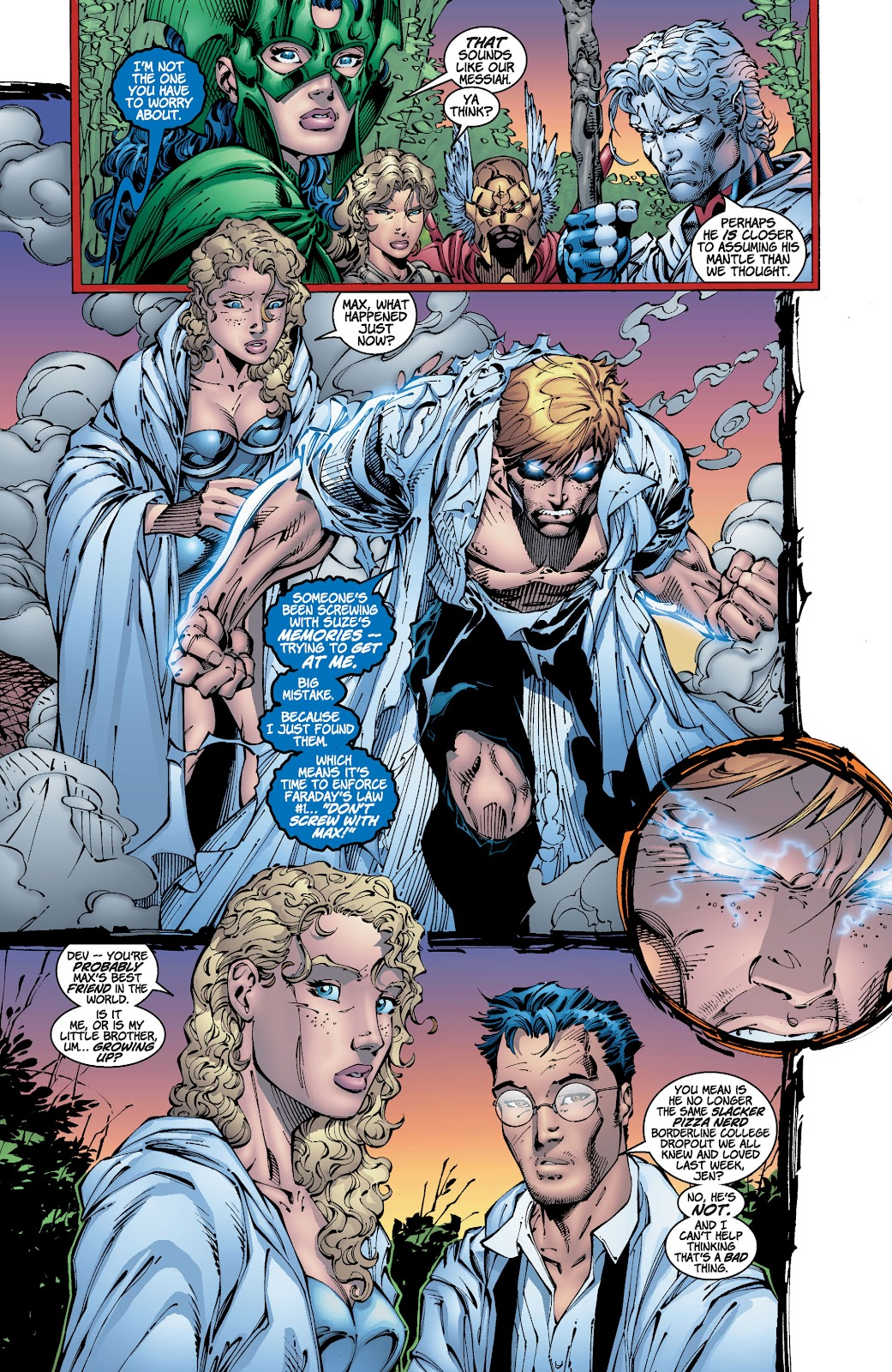 Read online Divine Right comic -  Issue # _TPB The Adventures of Max Faraday (Part 2) - 90