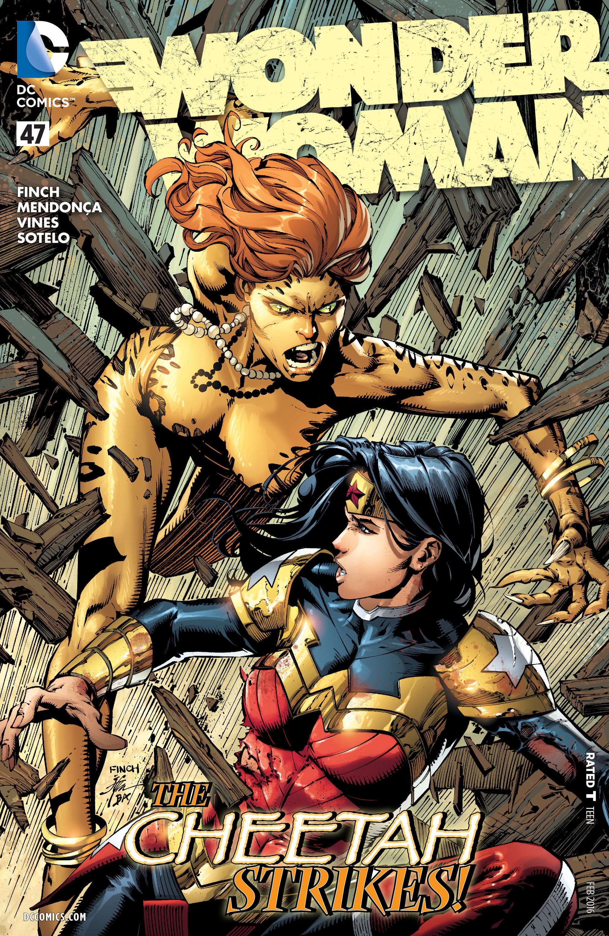 Read online Wonder Woman (2011) comic -  Issue #47 - 1