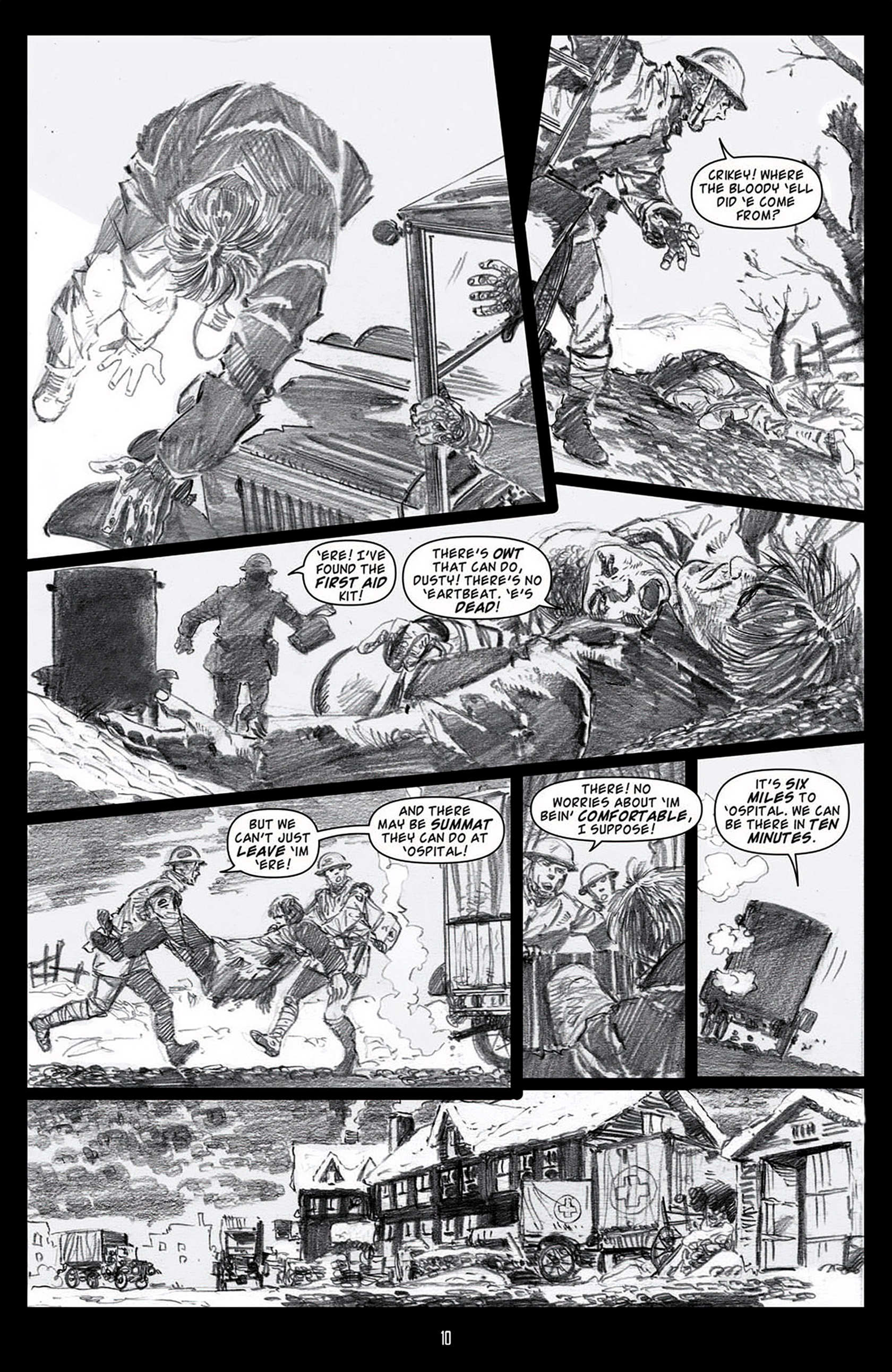 Read online Angel: Blood & Trenches comic -  Issue #1 - 13