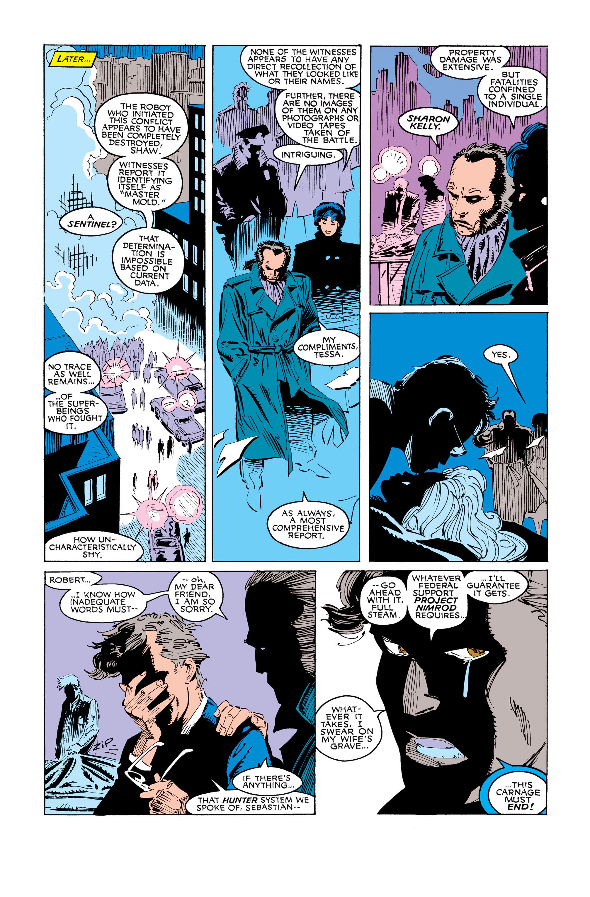 Read online Uncanny X-Men (1963) comic -  Issue #247 - 22