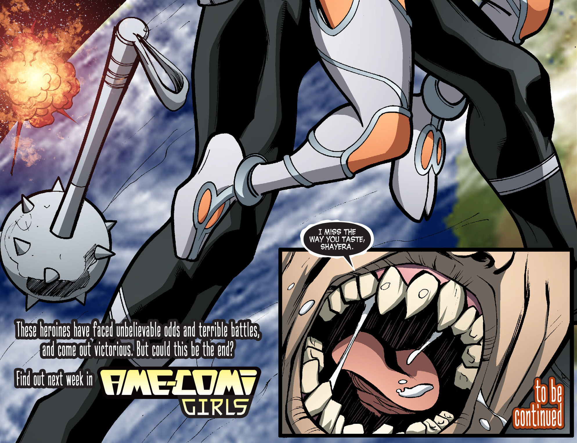Read online Ame-Comi Girls comic -  Issue #17 - 22