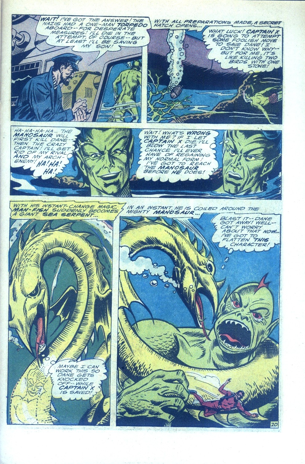 Read online Sea Devils comic -  Issue #28 - 28