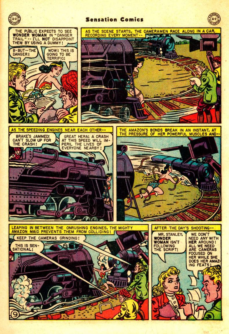 Read online Sensation (Mystery) Comics comic -  Issue #88 - 10