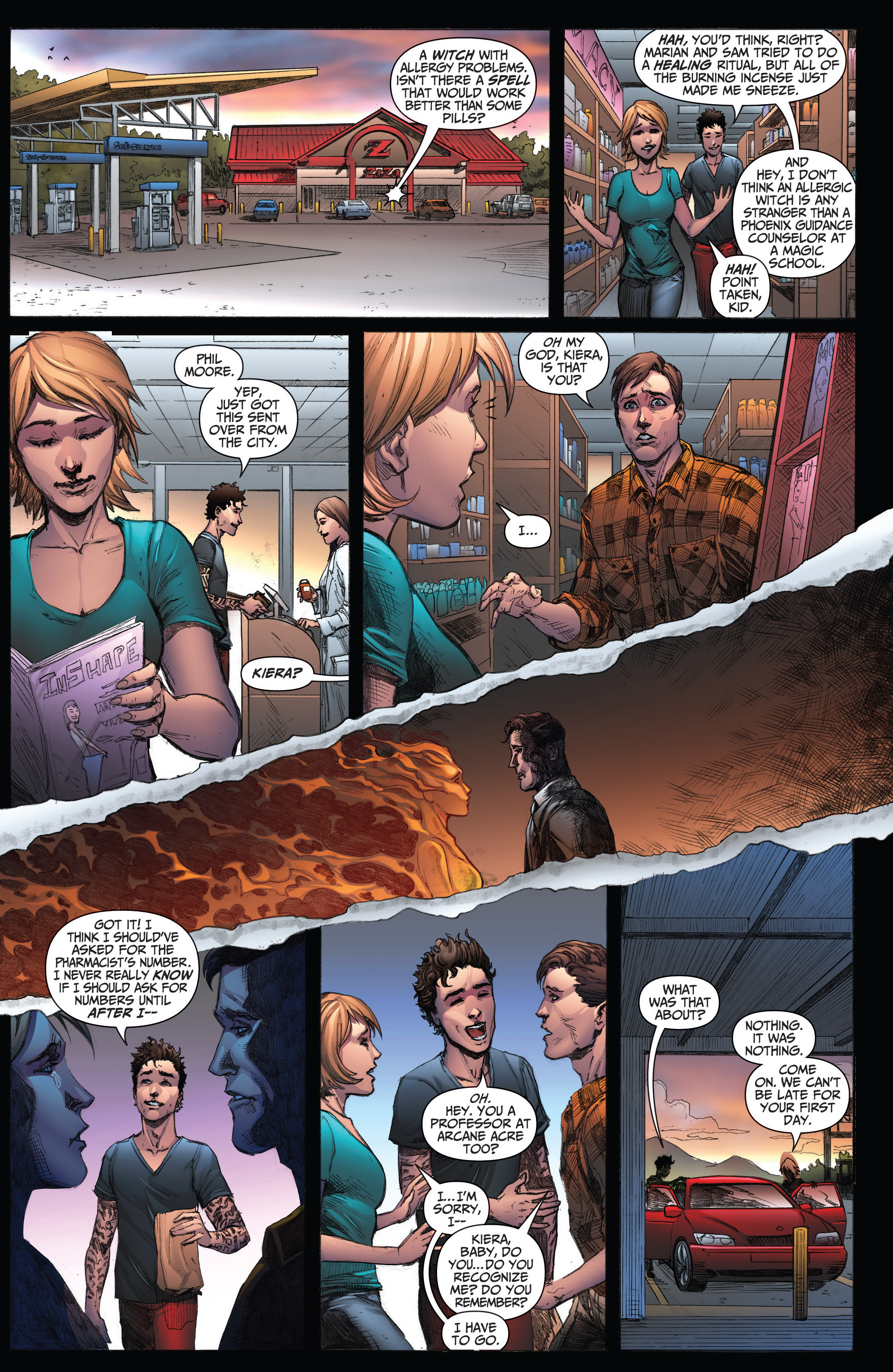 Read online Grimm Fairy Tales: Arcane Acre comic -  Issue # TPB 3 - 80