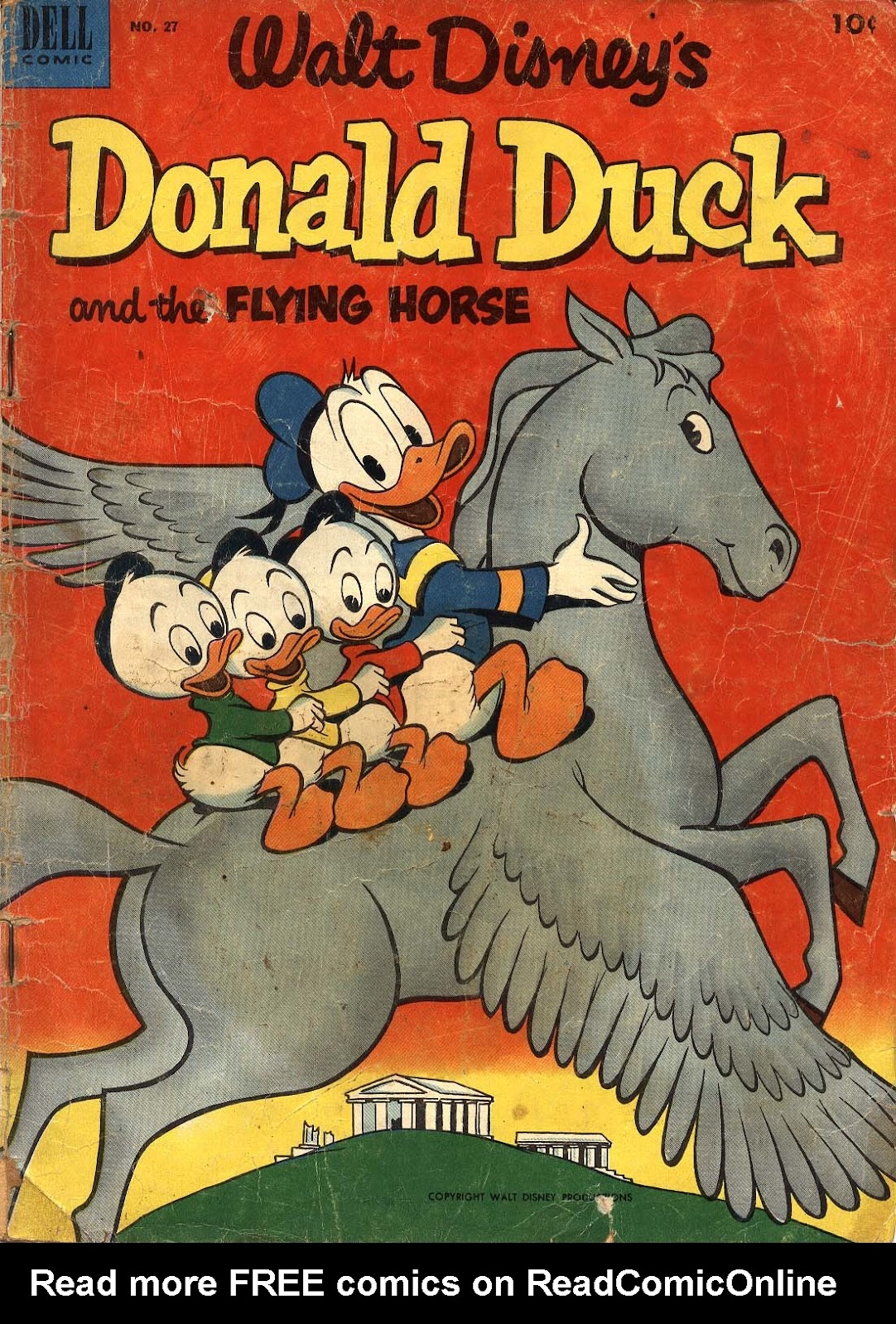 Walt Disney's Donald Duck (1952) issue 27 - Page 1