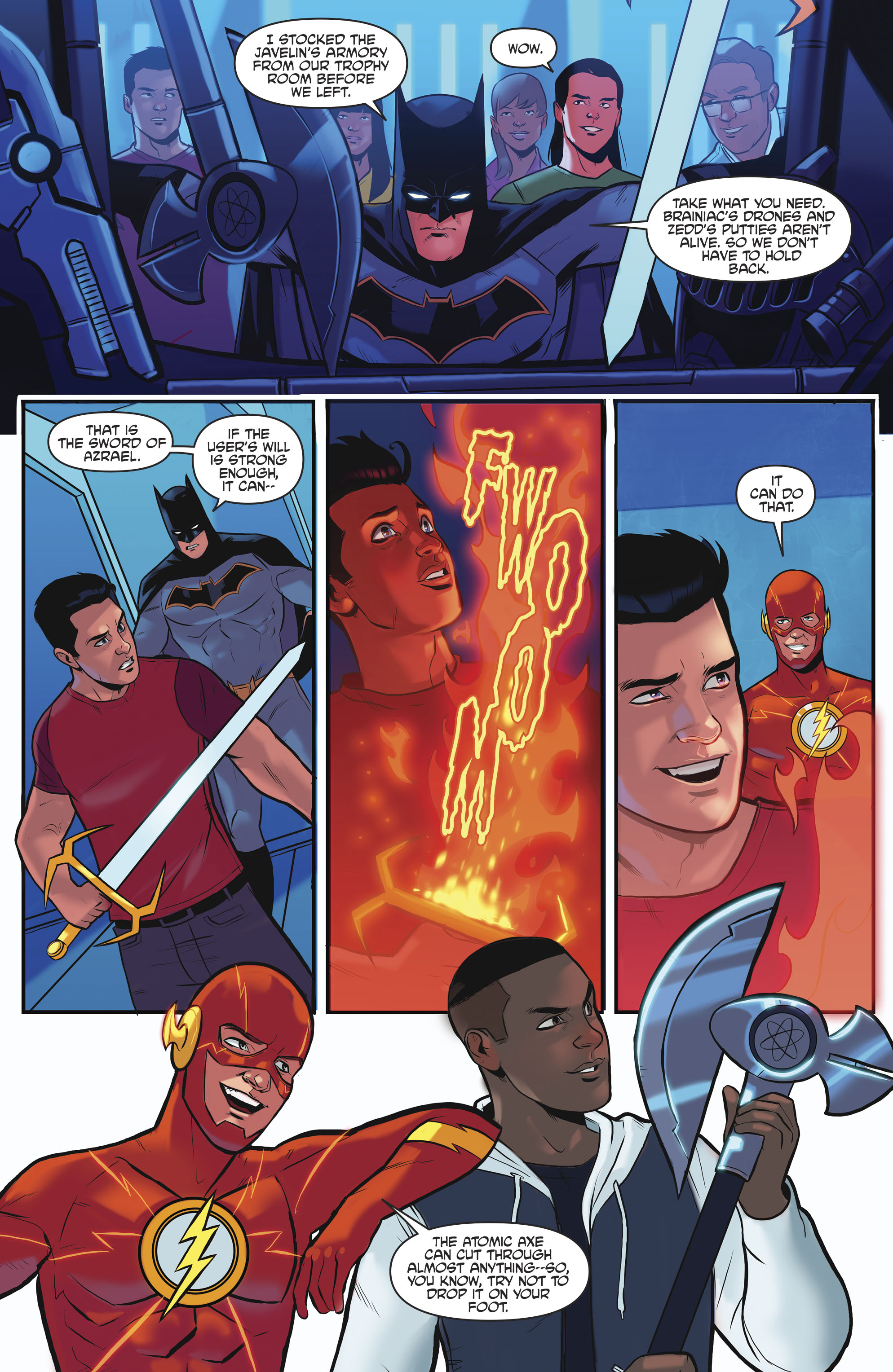Read online Justice League/Mighty Morphin' Power Rangers comic -  Issue #4 - 16