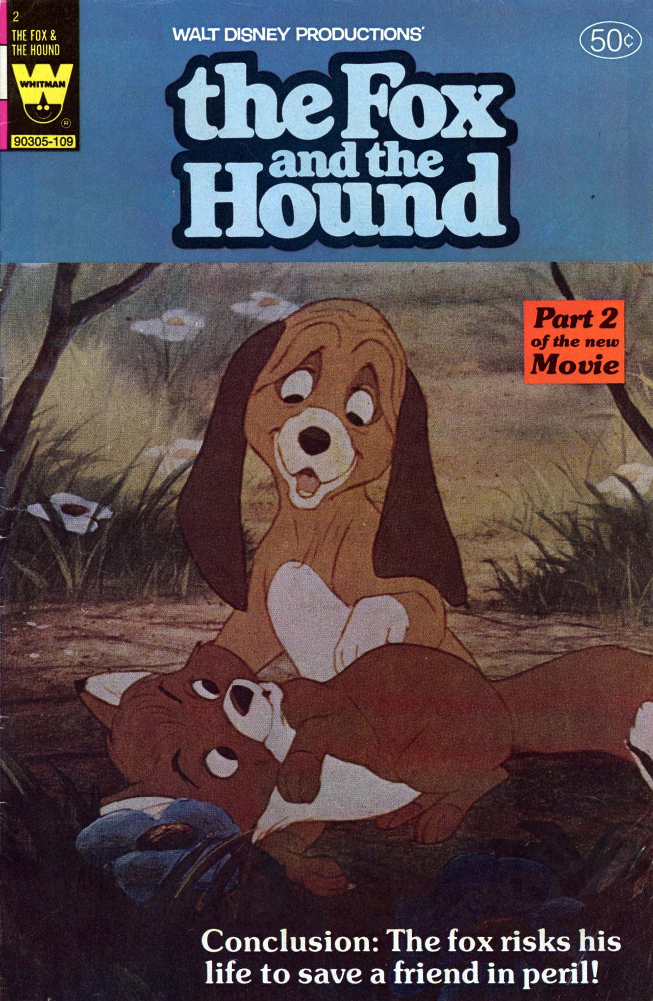 Walt Disney Productions The Fox and the Hound issue 2 - Page 1