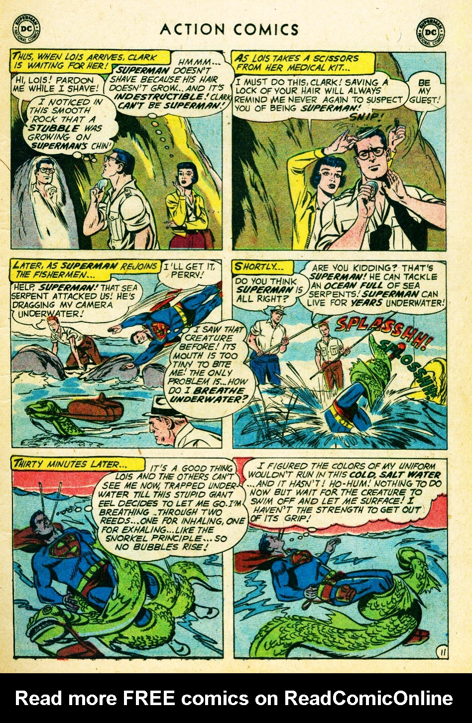 Read online Action Comics (1938) comic -  Issue #262 - 13