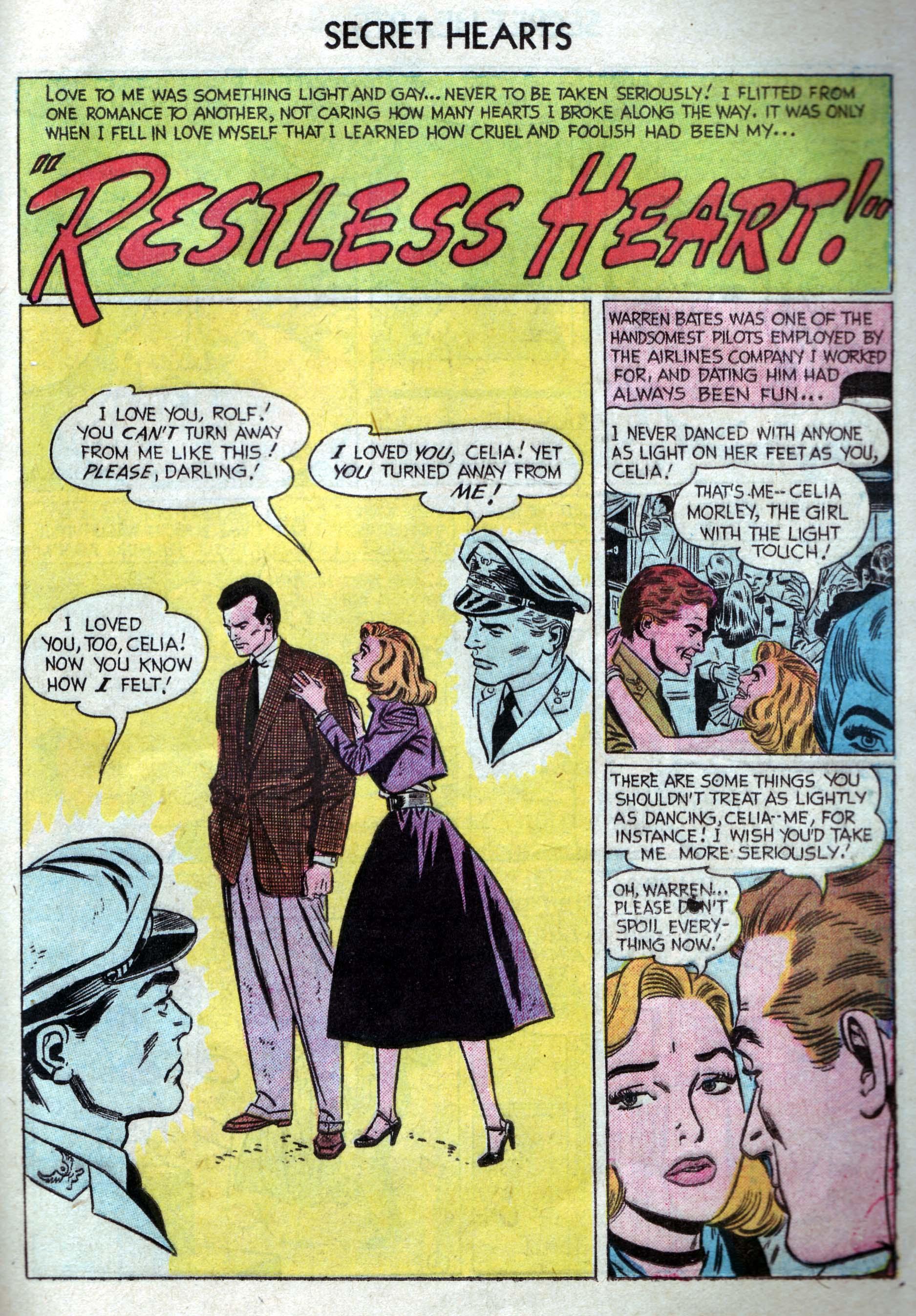 Read online Secret Hearts comic -  Issue #33 - 19