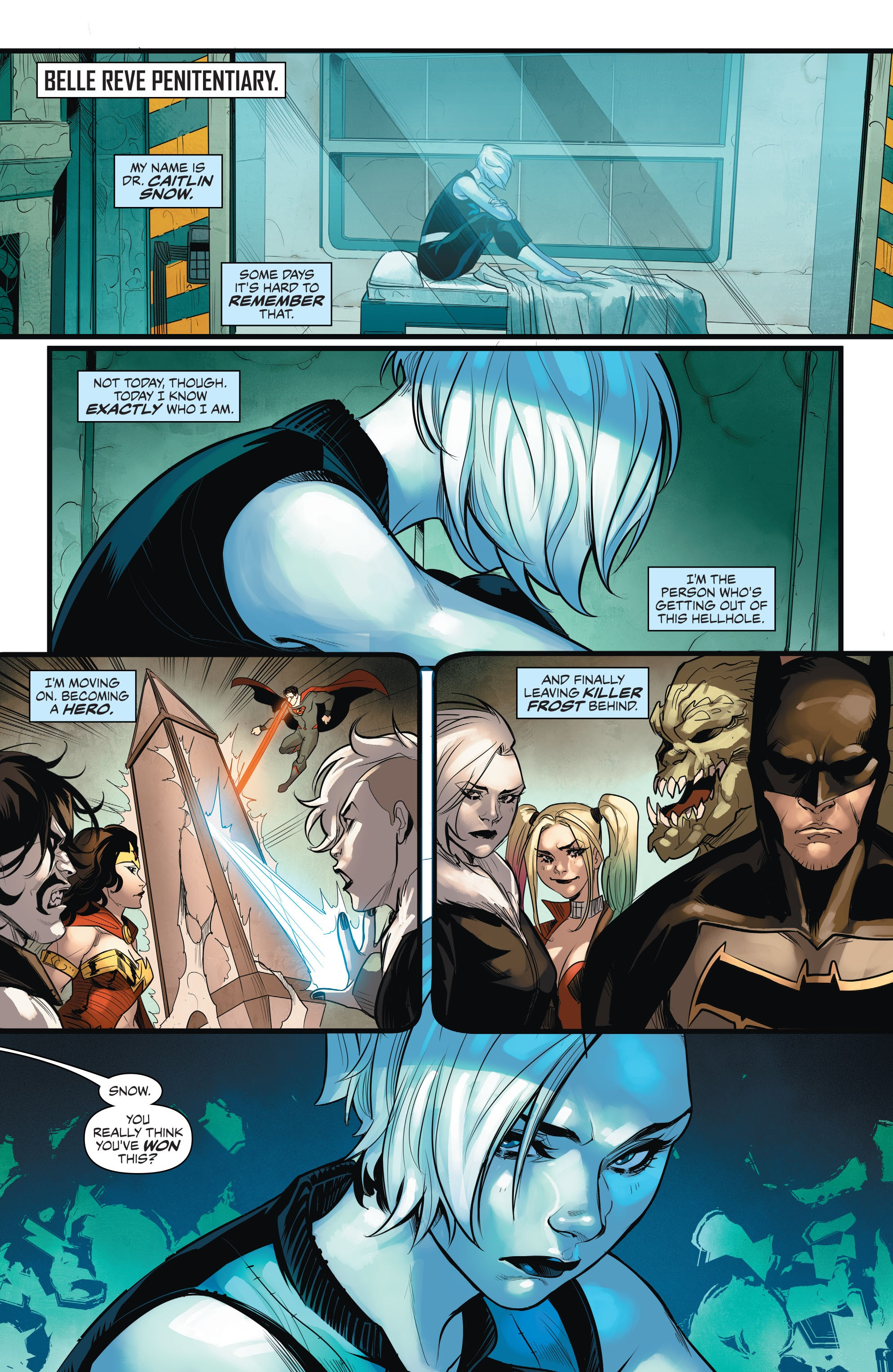 Read online Justice League of America: Killer Frost - Rebirth comic -  Issue # Full - 4