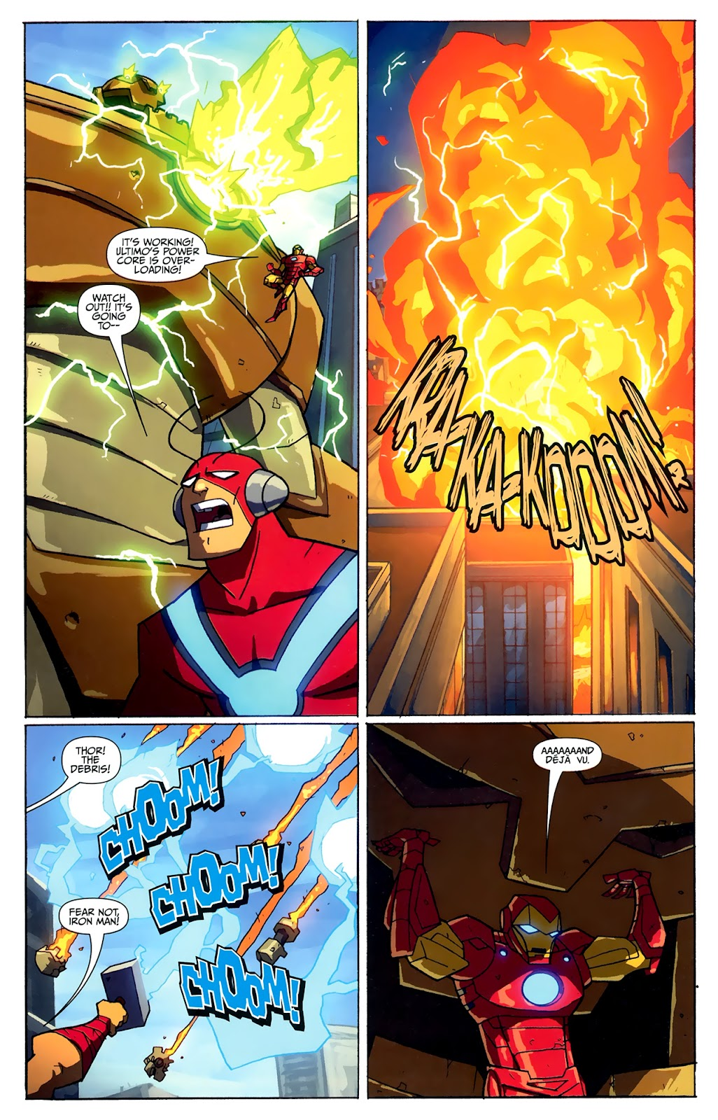 Avengers: Earth's Mightiest Heroes (2011) Issue #4 #4 - English 20