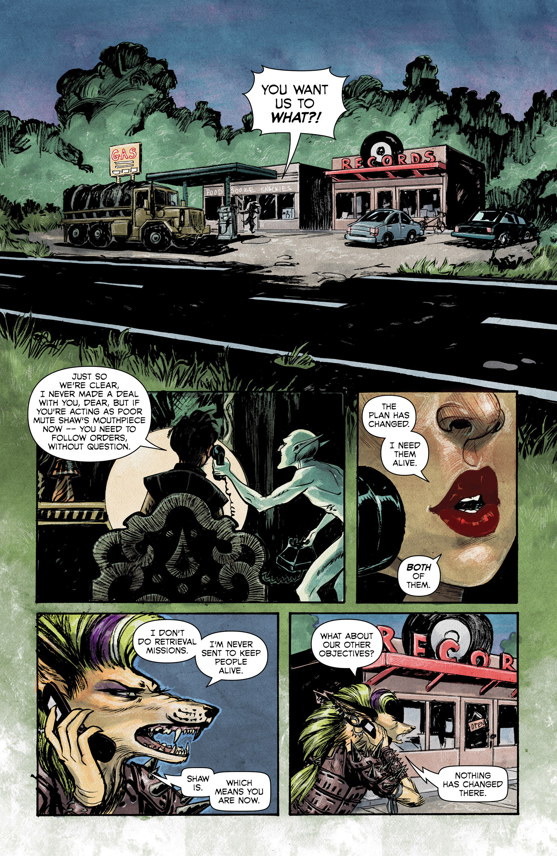 Read online Shutter comic -  Issue #6 - 4