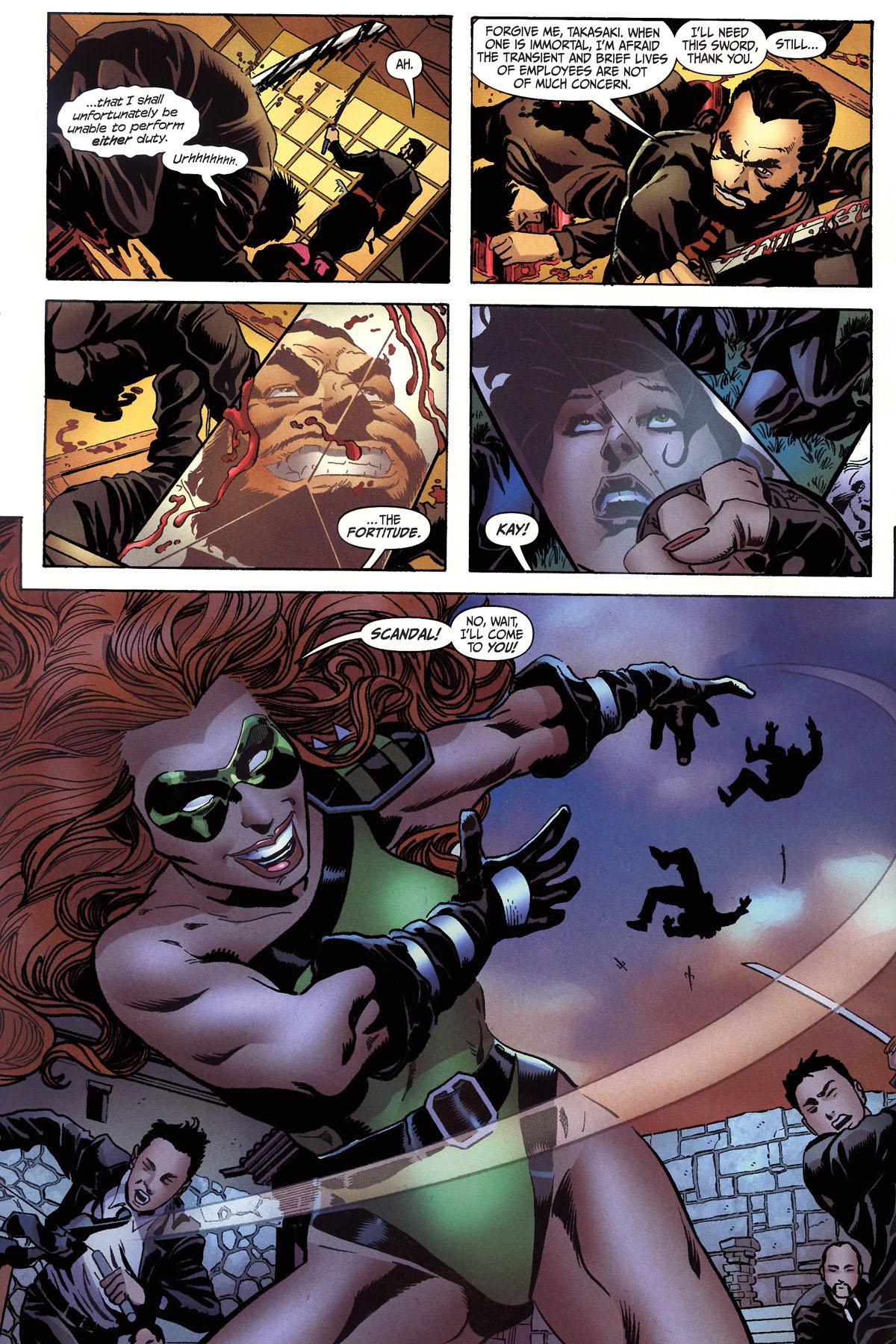 Read online Secret Six (2006) comic -  Issue #6 - 7
