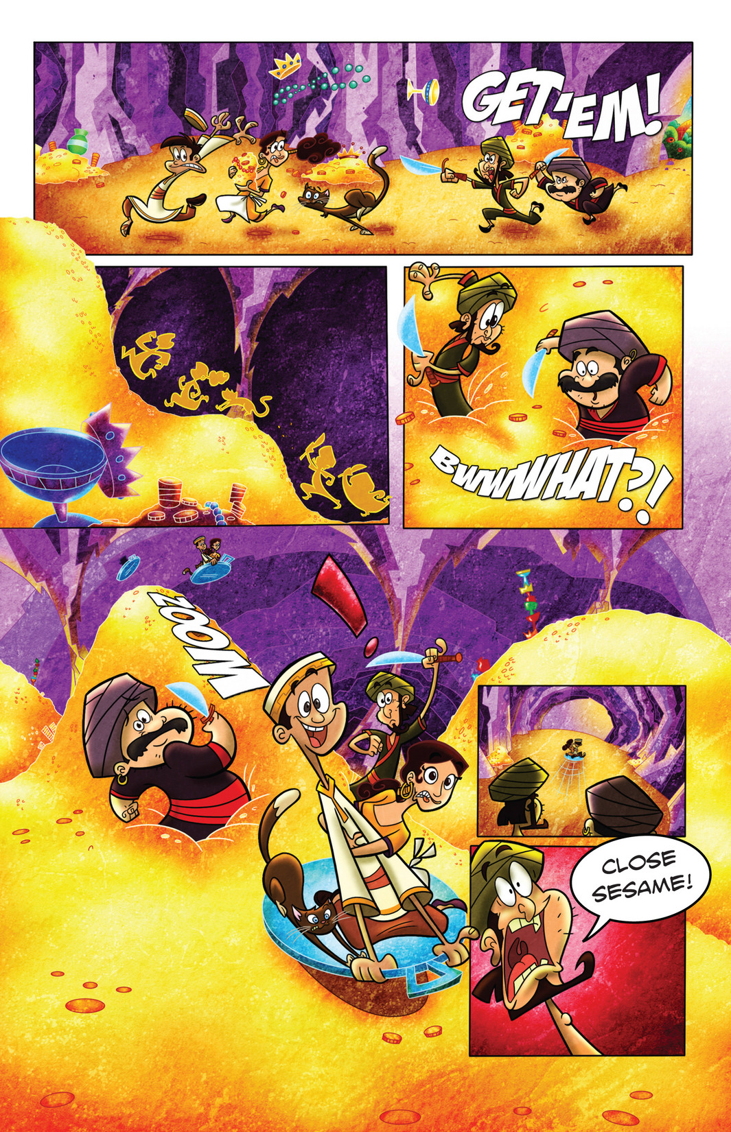 Read online 1001 Nights comic -  Issue #4 - 15