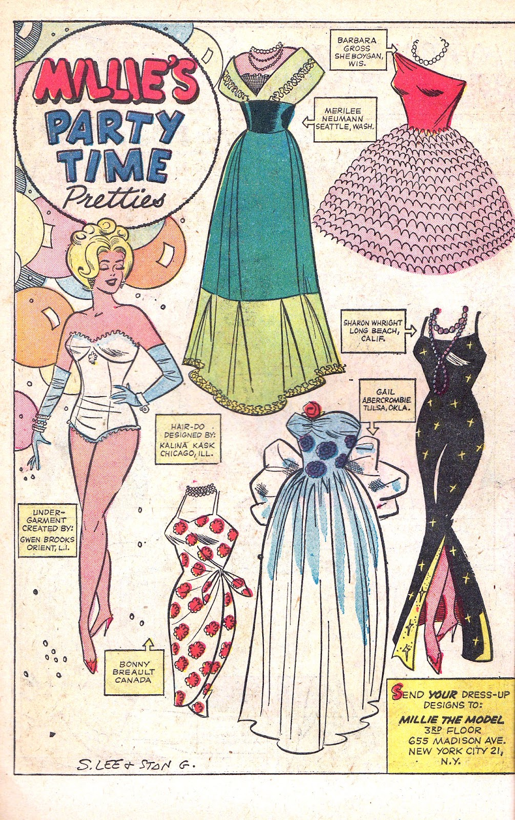 Read online Millie the Model comic -  Issue # Annual 1 - 14