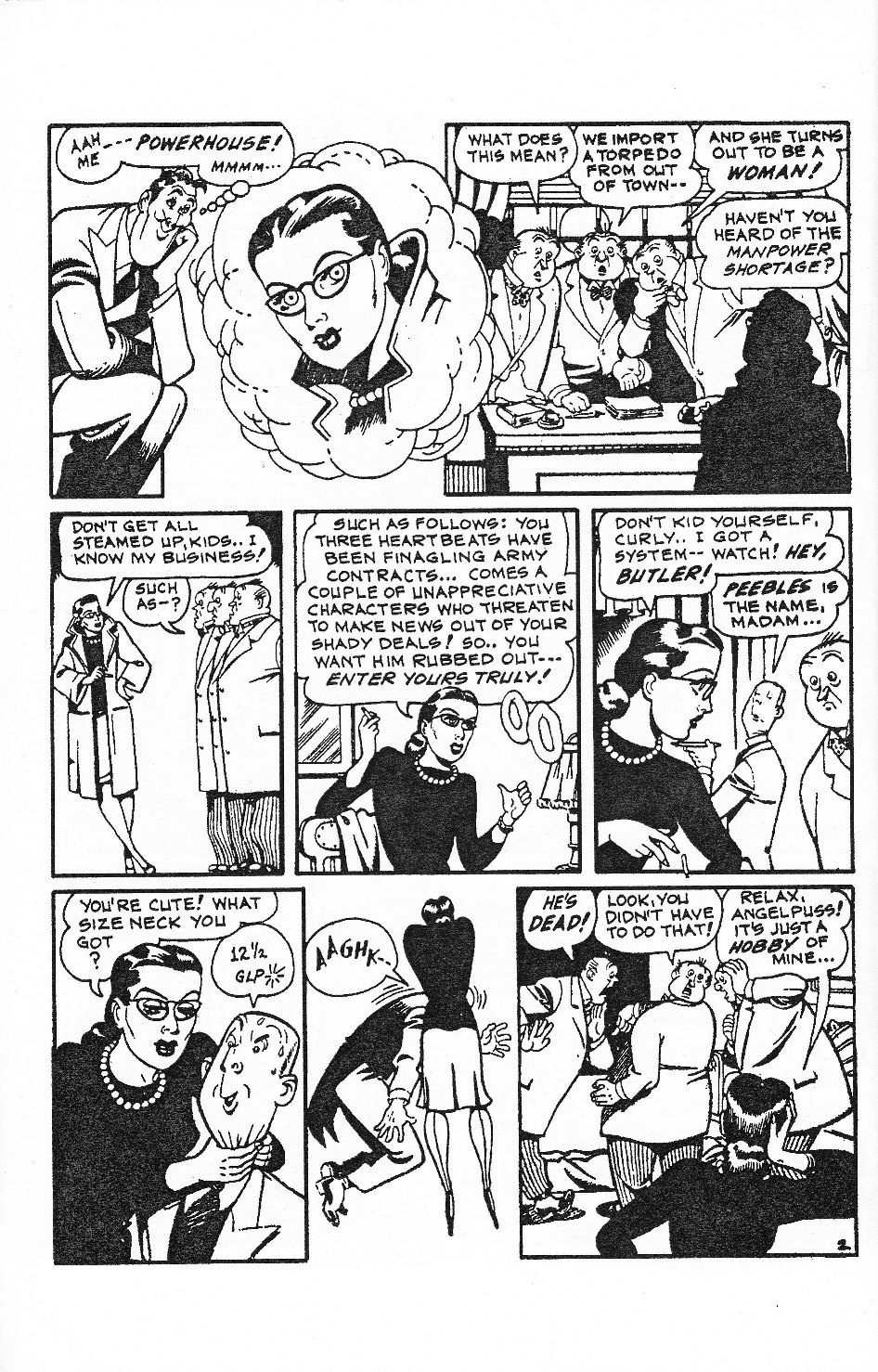 Read online Men of Mystery Comics comic -  Issue #53 - 20