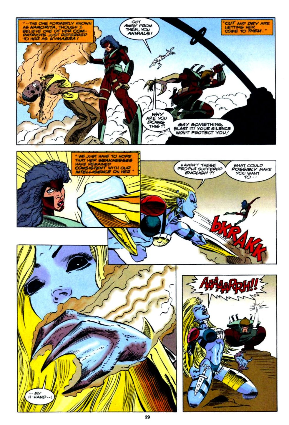 The New Warriors Issue #54 #58 - English 21