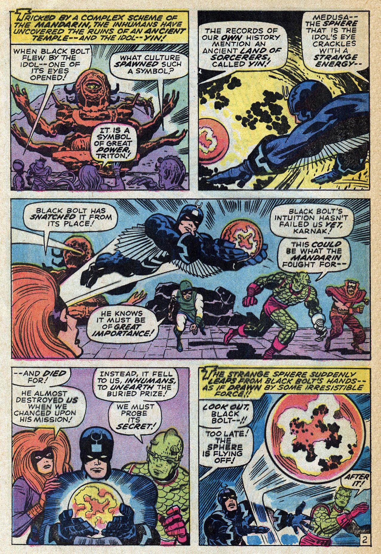 Read online Amazing Adventures (1970) comic -  Issue #4 - 4
