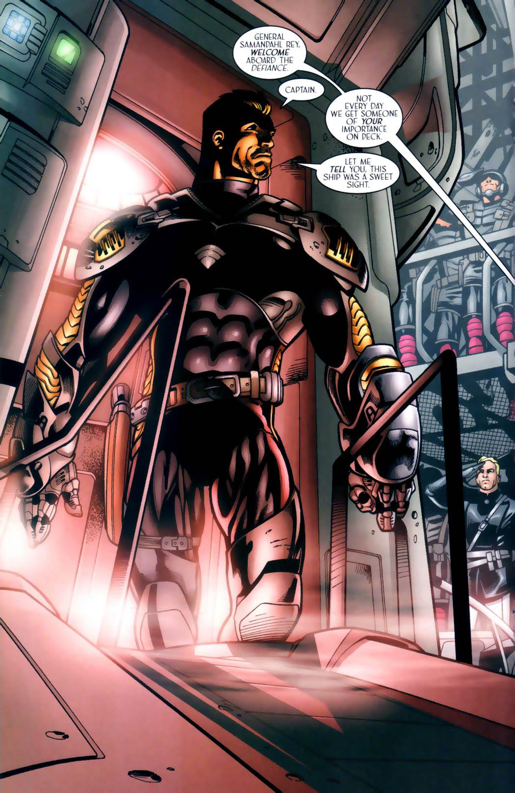 Read online Sigil (2000) comic -  Issue #30 - 21