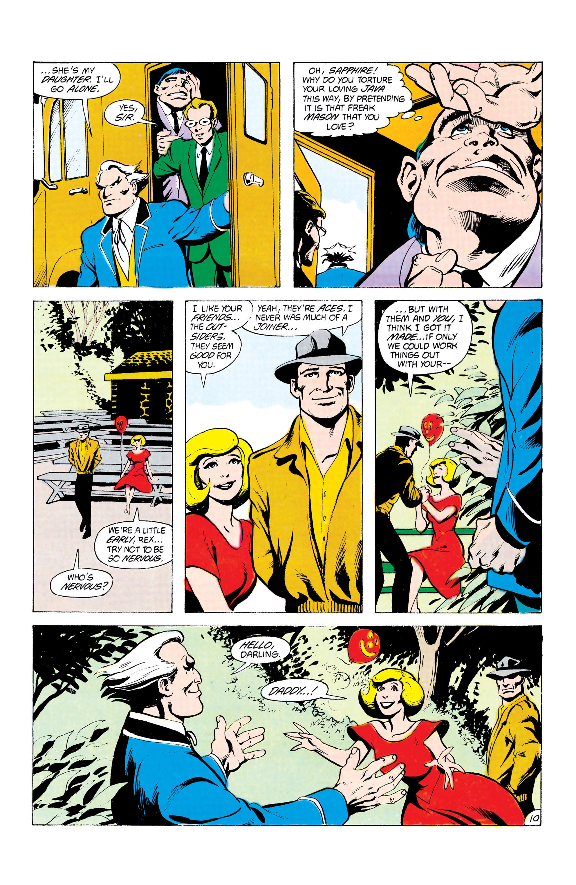 Batman and the Outsiders (1983) 24 Page 10